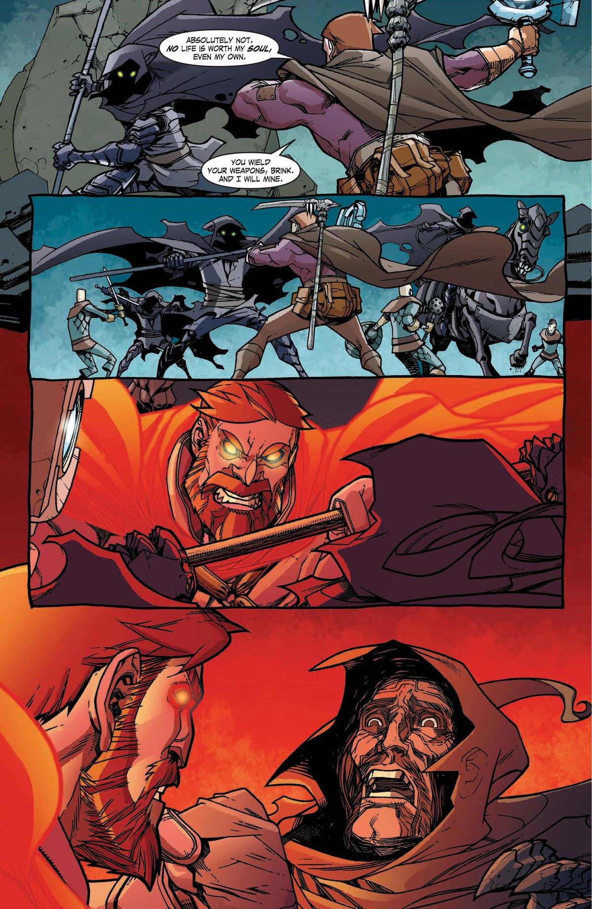Read online World of Warcraft: Dark Riders comic -  Issue # Full - 115
