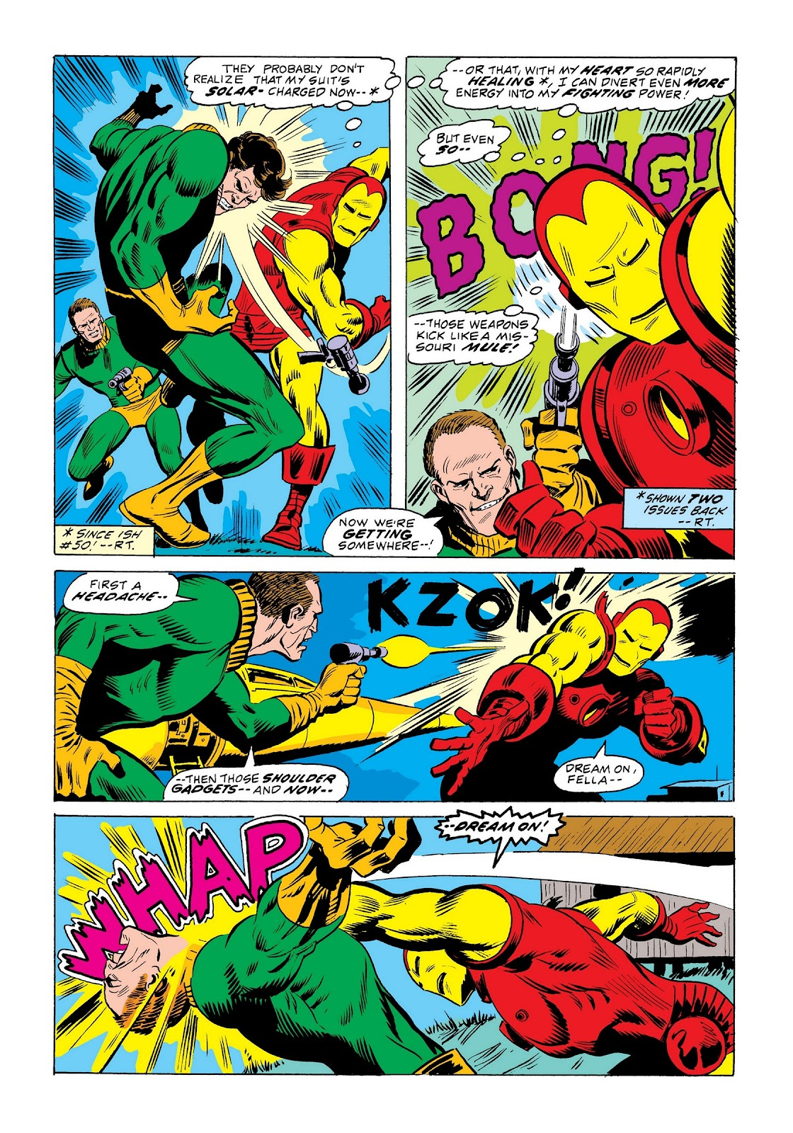 Read online Marvel Masterworks: The Invincible Iron Man comic -  Issue # TPB 9 (Part 2) - 45