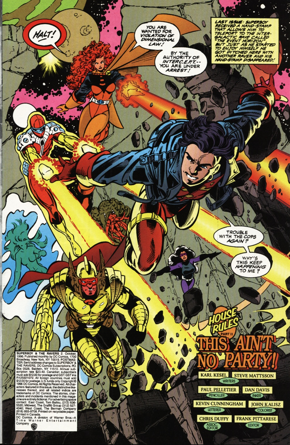 Read online Superboy & The Ravers comic -  Issue #2 - 2