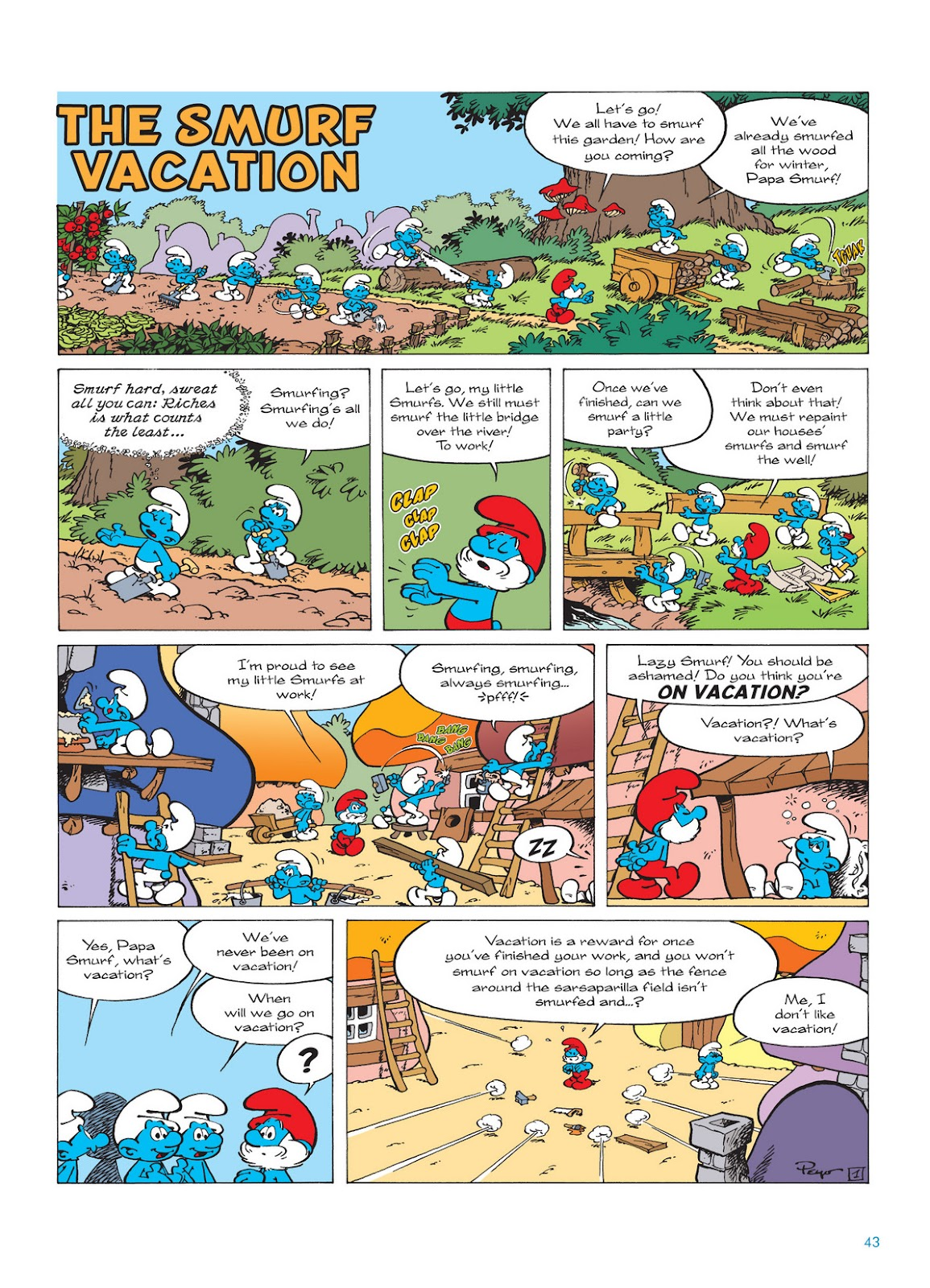Read online The Smurfs comic -  Issue #12 - 43