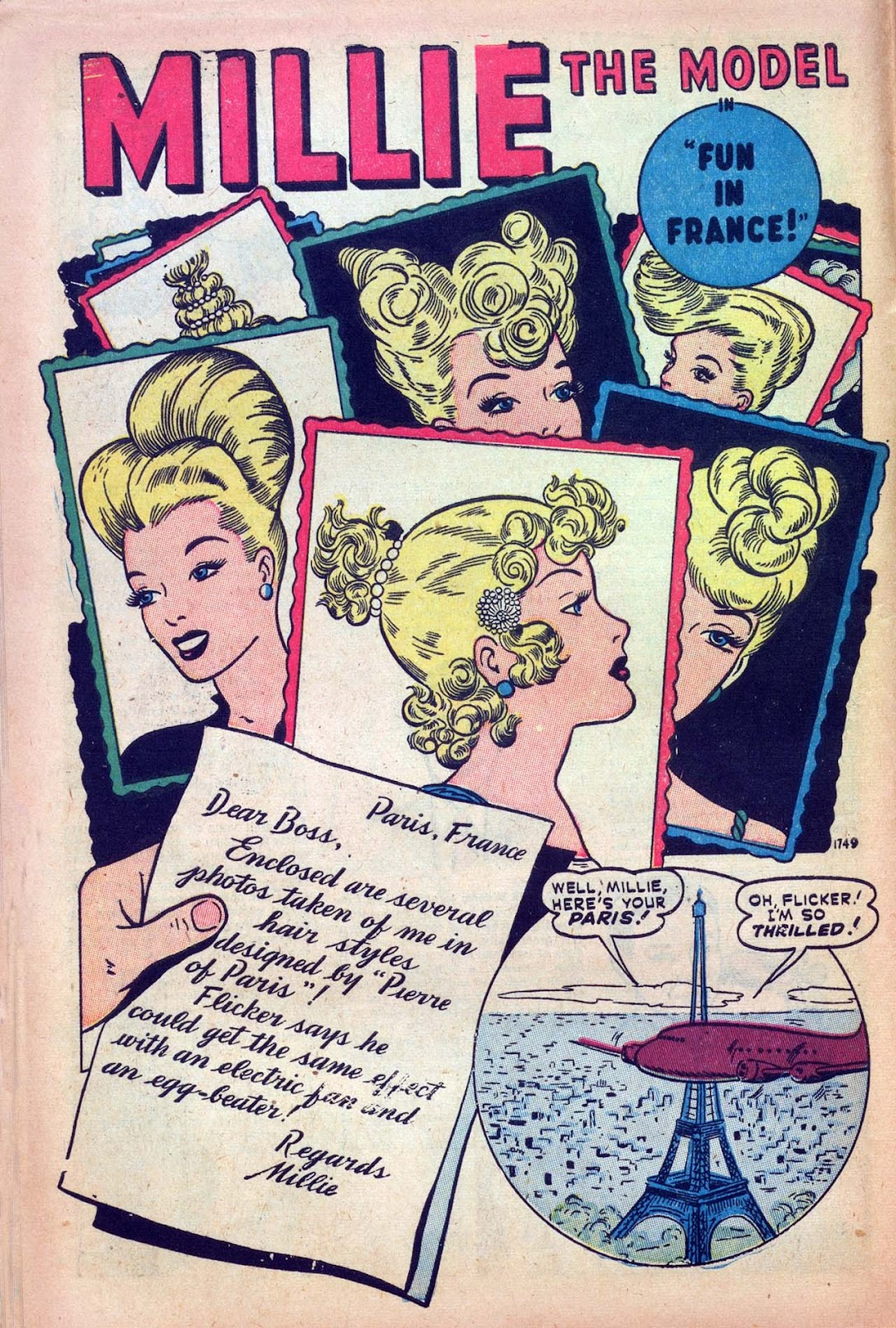 Read online Millie the Model comic -  Issue #9 - 12