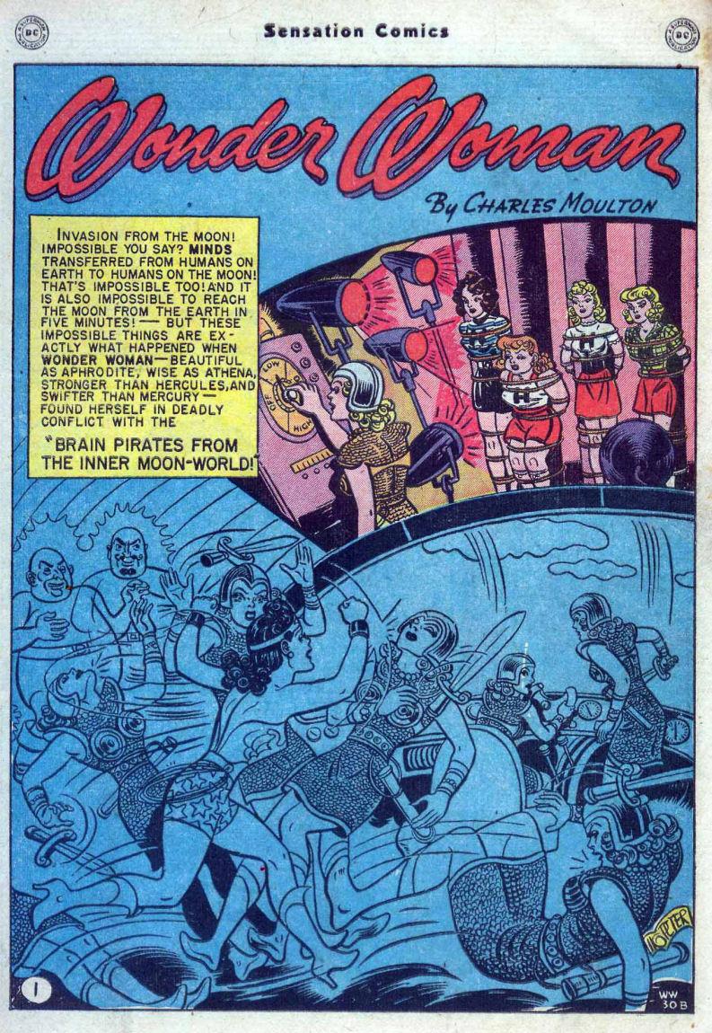 Read online Sensation (Mystery) Comics comic -  Issue #82 - 3
