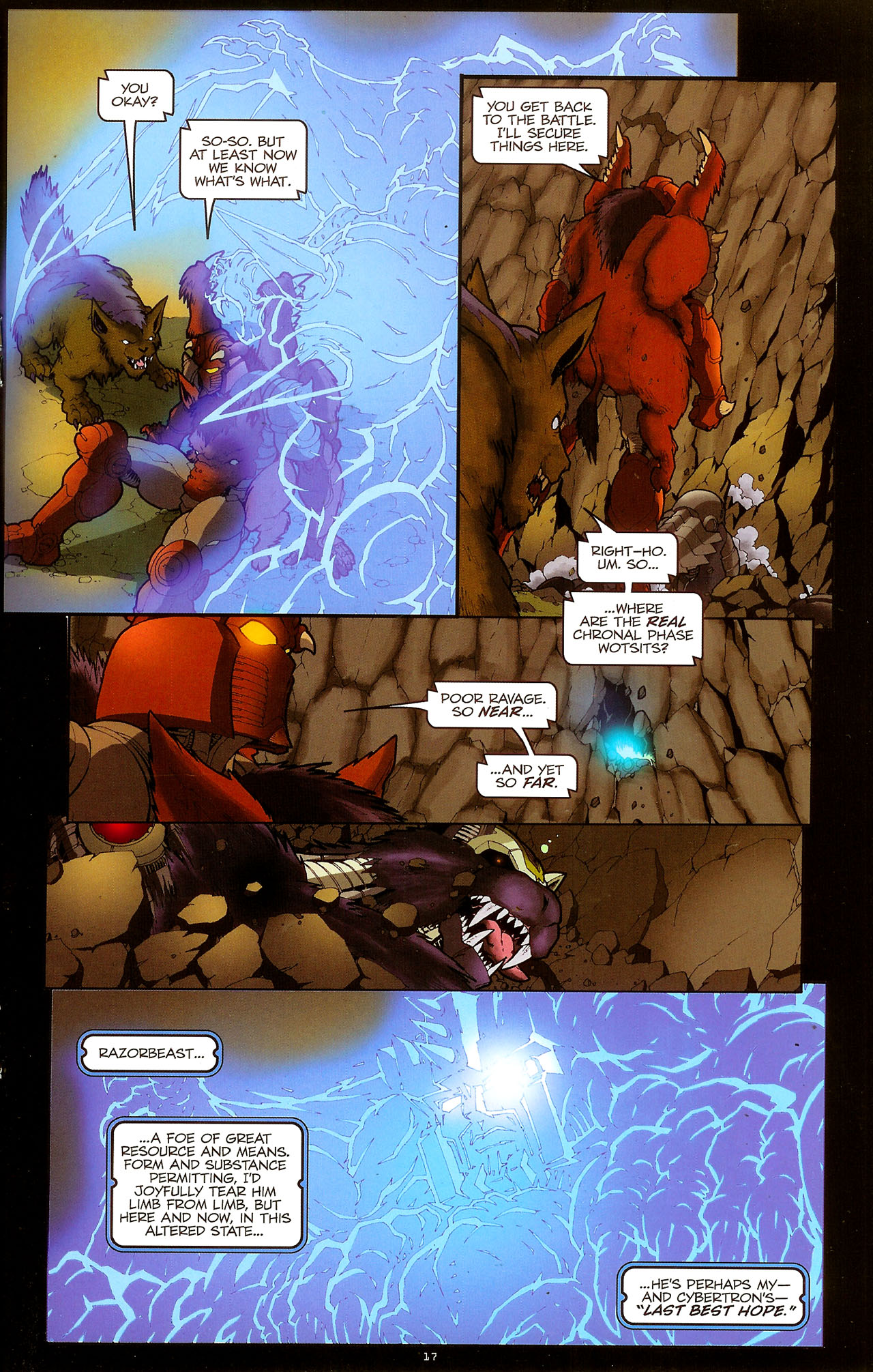 Read online Transformers: Beast Wars: The Ascending comic -  Issue #1 - 19