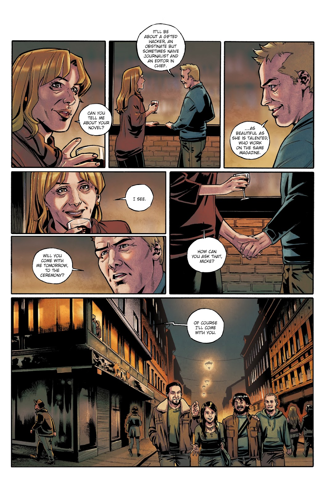 Read online Millennium: The Girl Who Danced With Death comic -  Issue #3 - 62