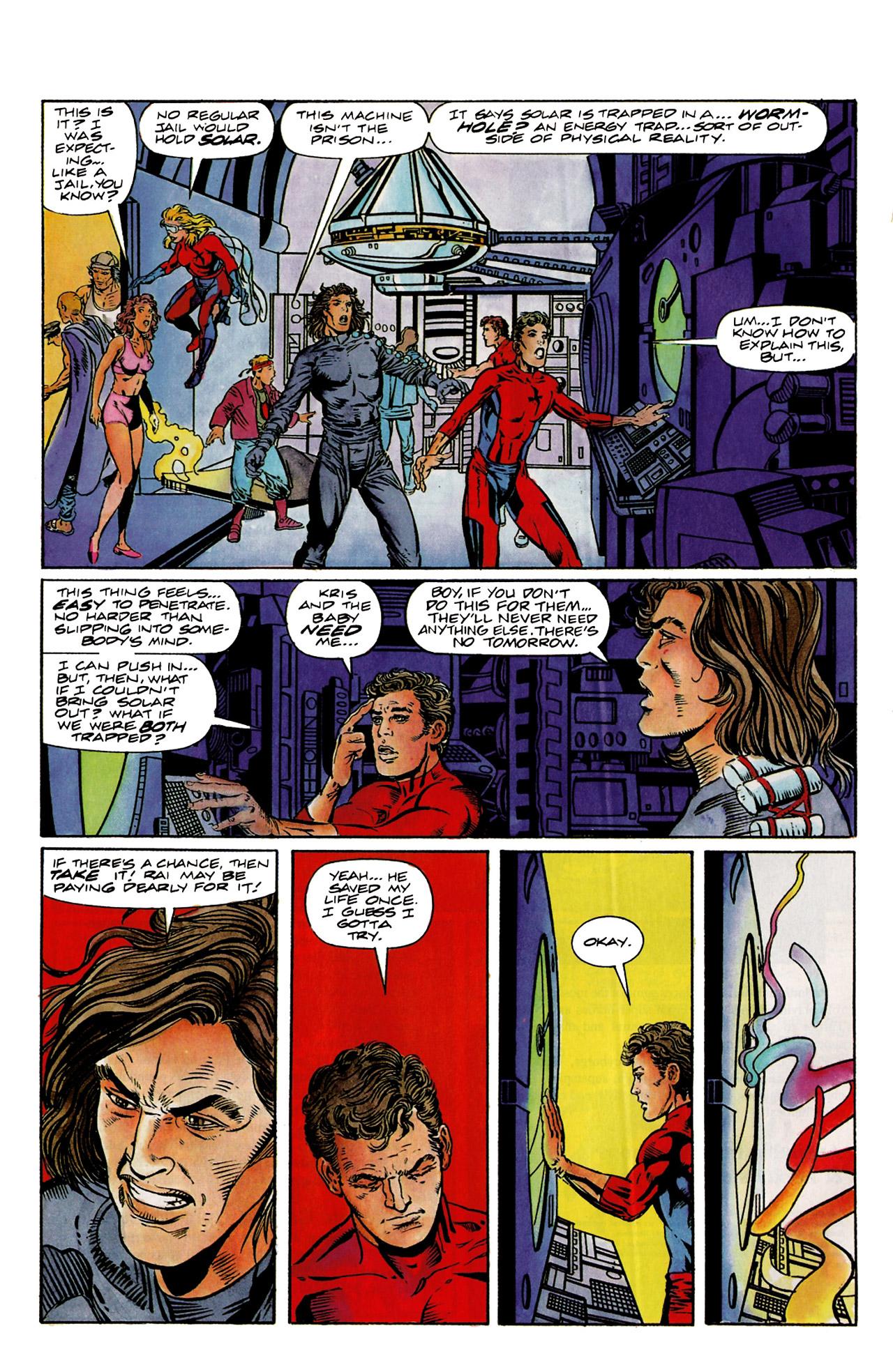 Read online Harbinger (1992) comic -  Issue #9 - 13