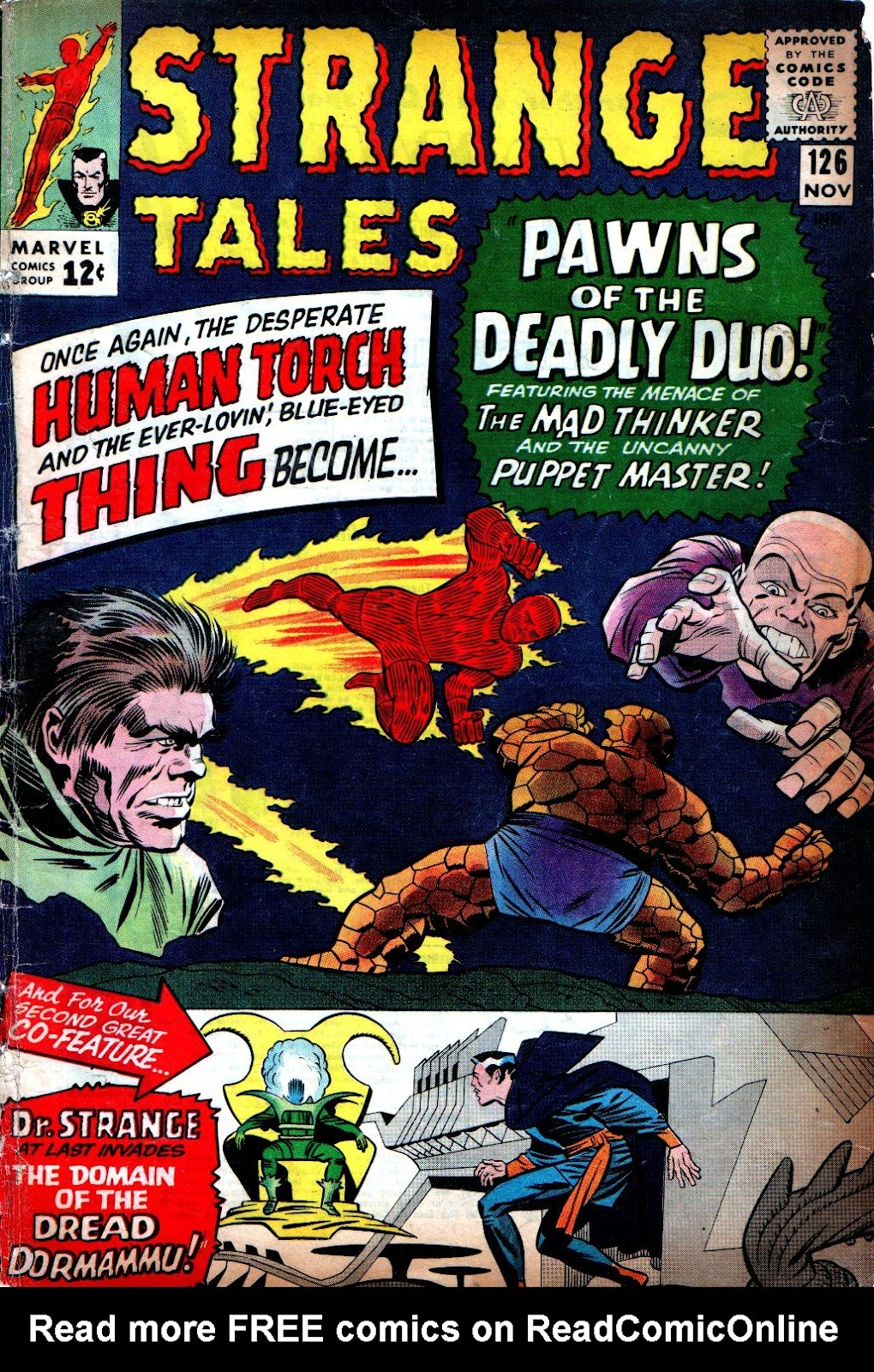 Strange Tales (1951) issue 126 - Page 1