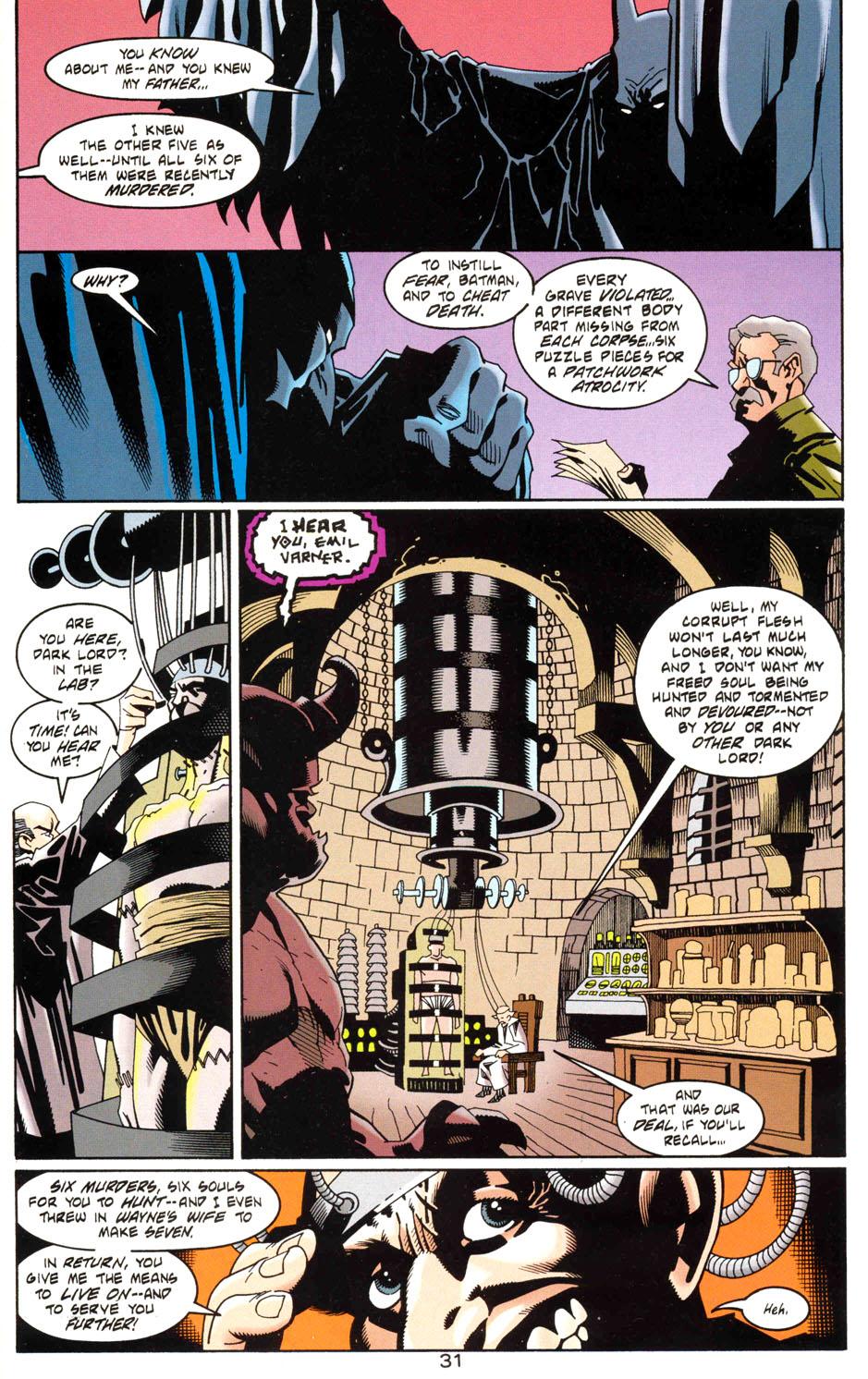 Read online Batman: Haunted Gotham comic -  Issue #1 - 33