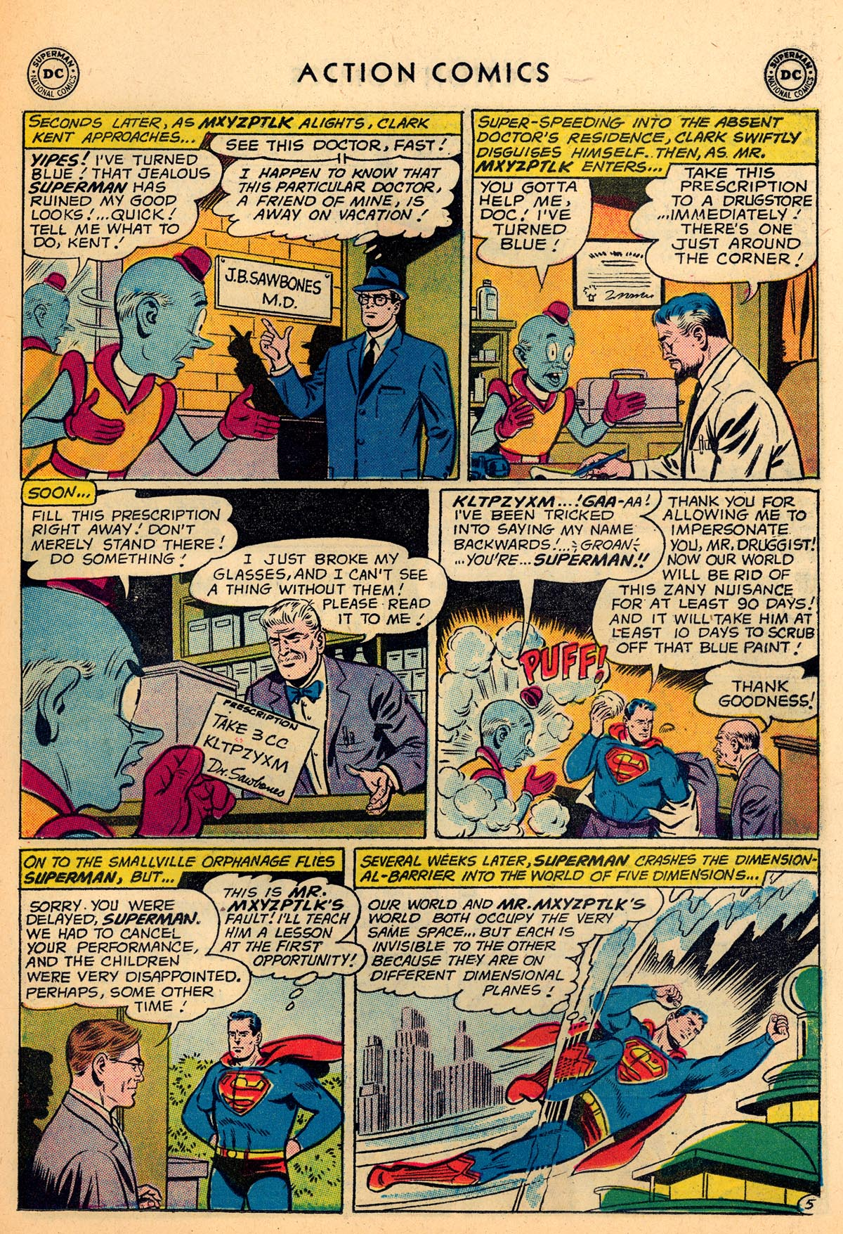 Read online Action Comics (1938) comic -  Issue #273 - 7