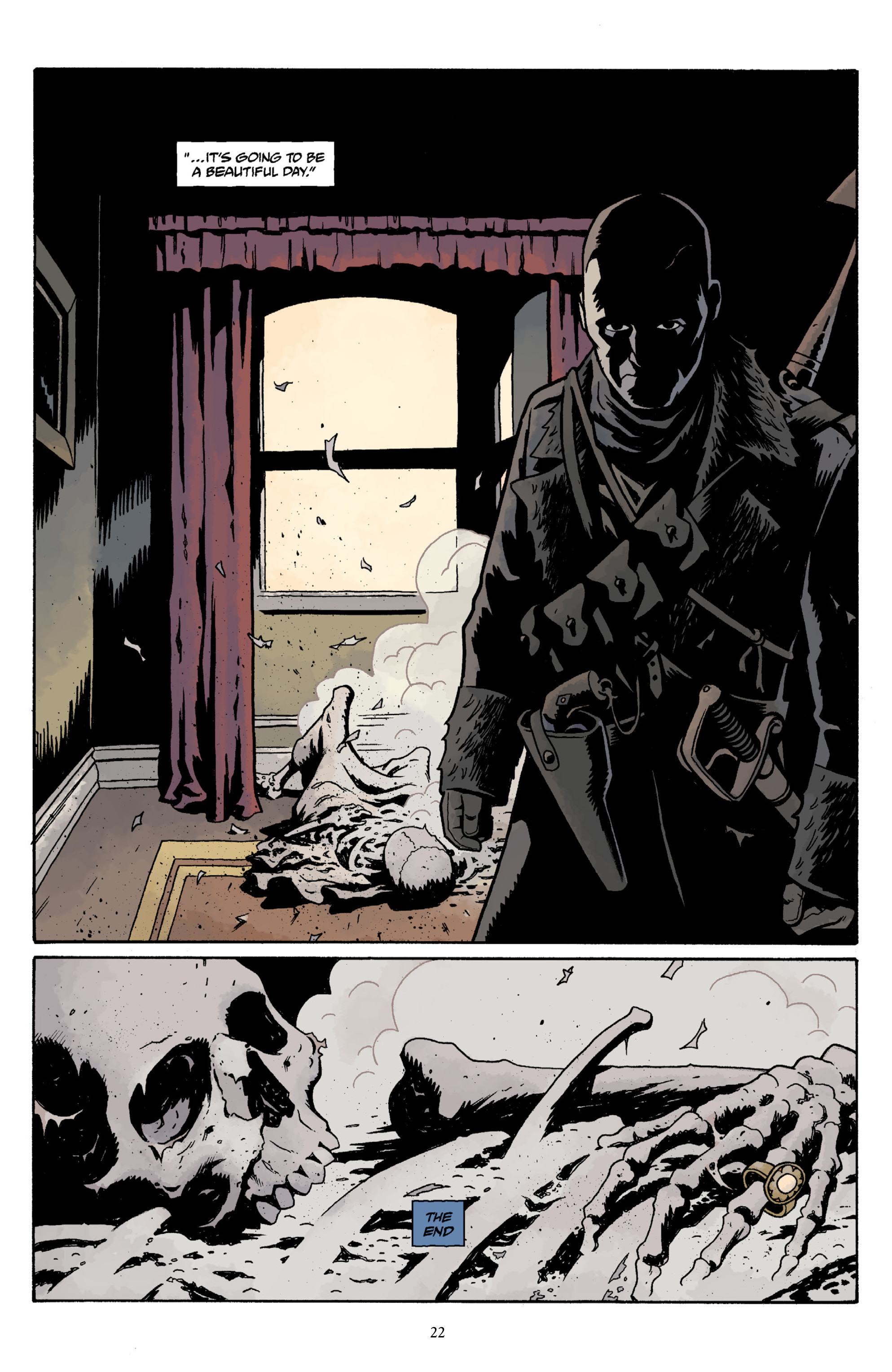 Read online Baltimore Volume 3: A Passing Stranger and Other Stories comic -  Issue # Full - 24