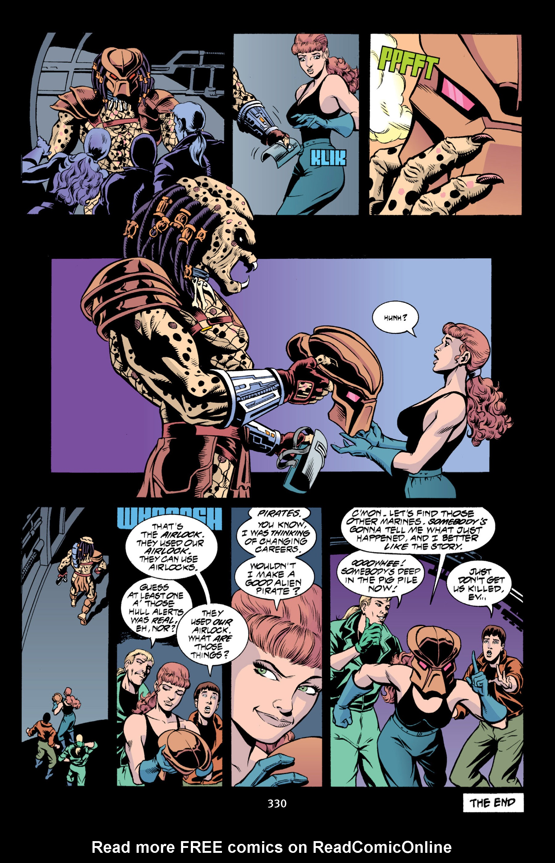 Read online Aliens vs. Predator Omnibus comic -  Issue # _TPB 2 Part 3 - 105