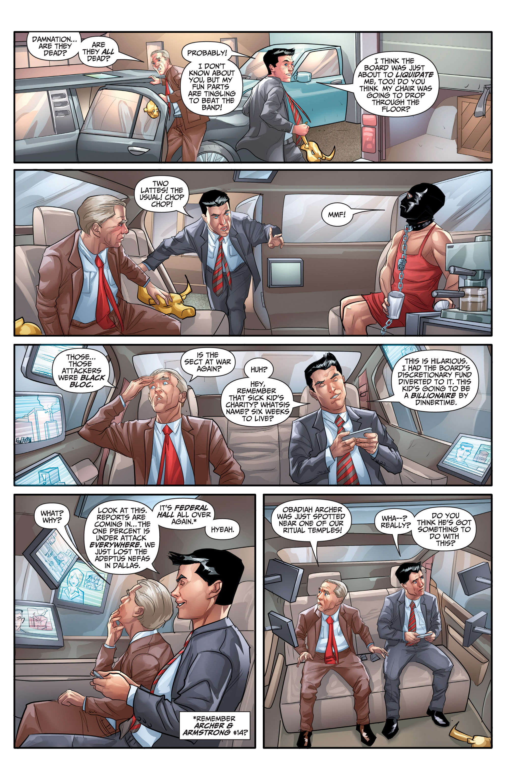 Read online Archer and Armstrong comic -  Issue #Archer and Armstrong _TPB 7 - 60