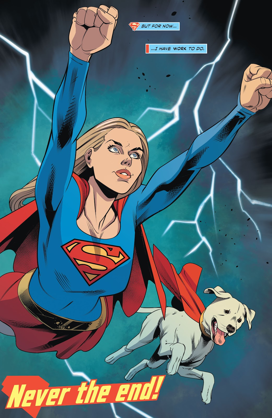 Read online Supergirl (2016) comic -  Issue #42 - 24