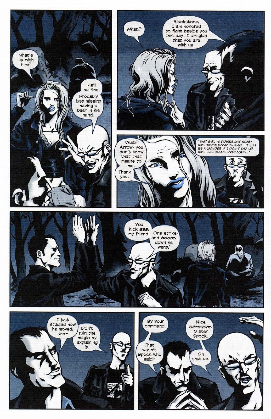 Read online Werewolf the Apocalypse comic -  Issue # Get of Fenris - 12