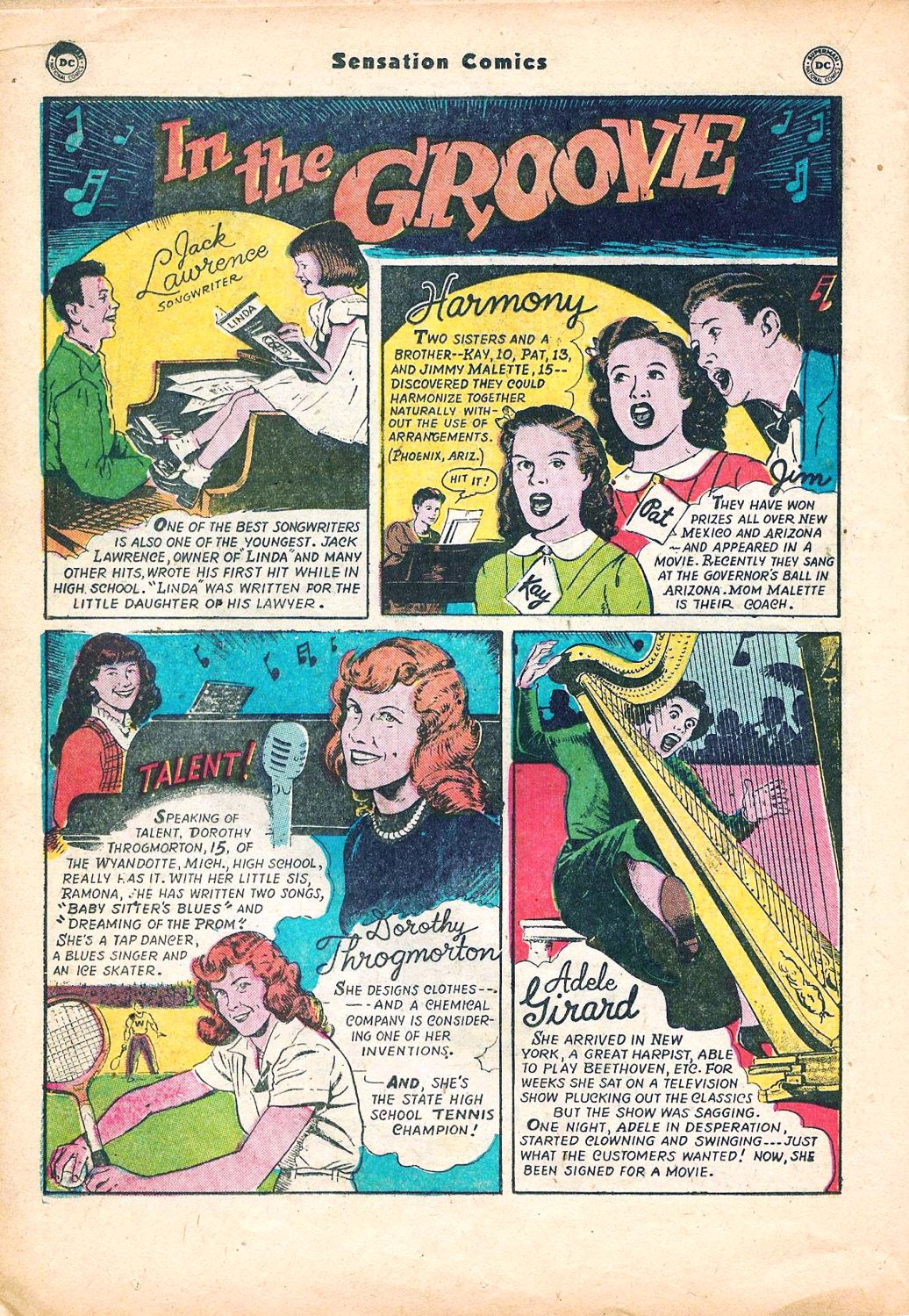 Read online Sensation (Mystery) Comics comic -  Issue #95 - 32
