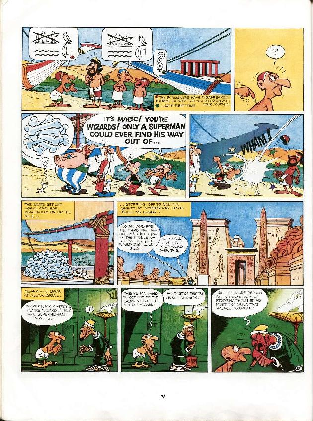Read online Asterix comic -  Issue #6 - 23
