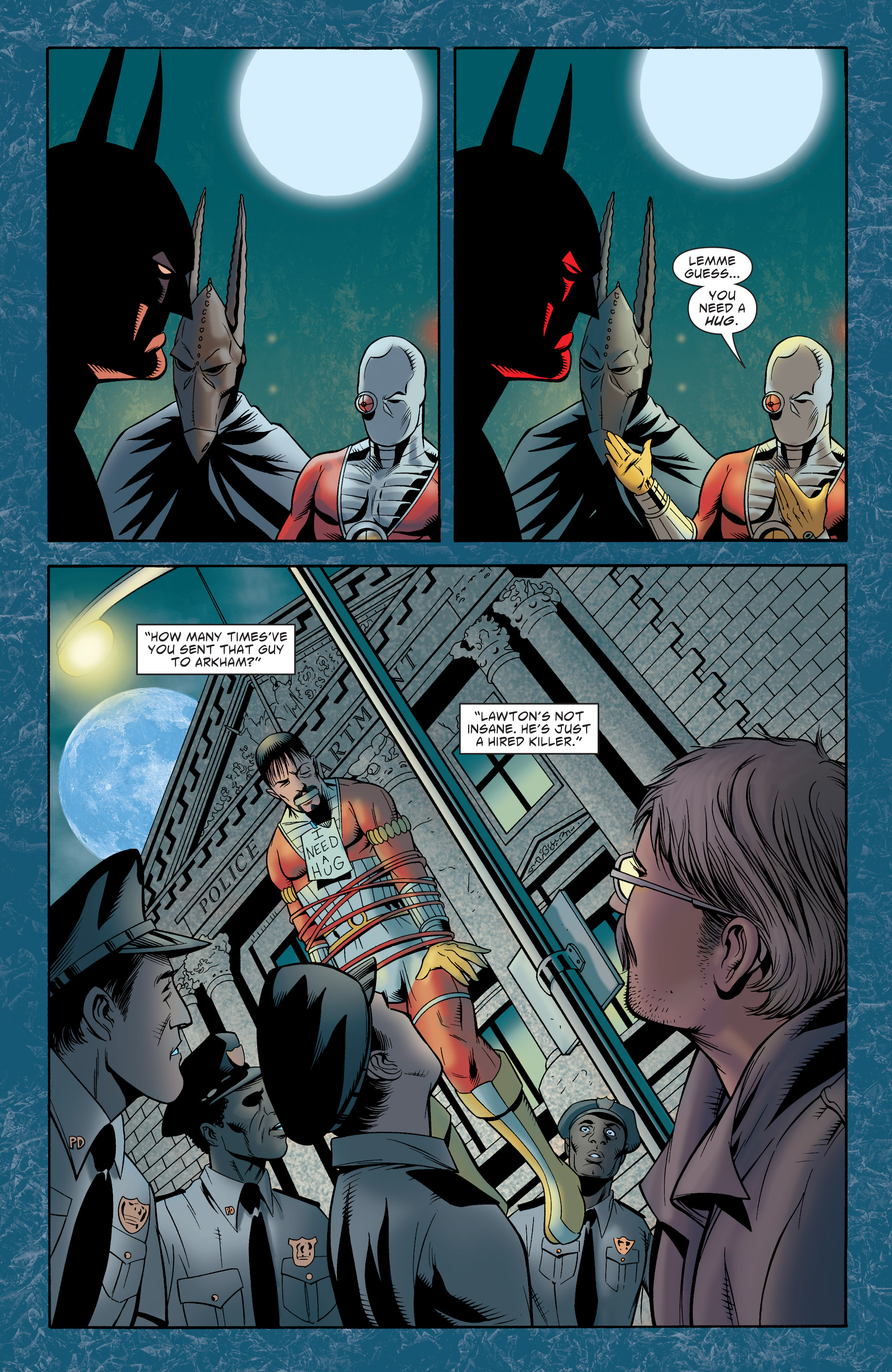 Read online Batman: The Widening Gyre comic -  Issue #6 - 33