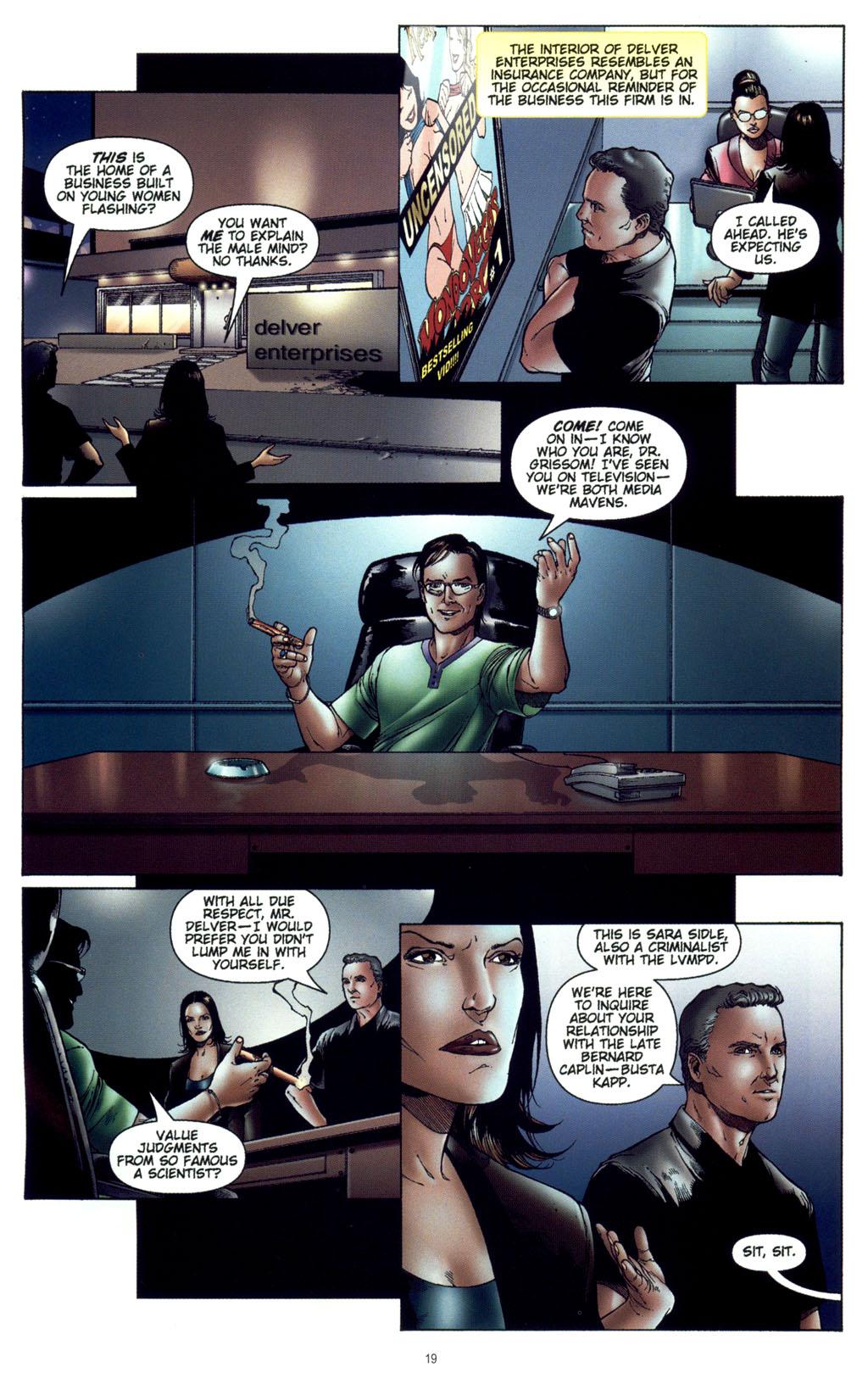 Read online CSI: Crime Scene Investigation: Bad Rap comic -  Issue #4 - 20