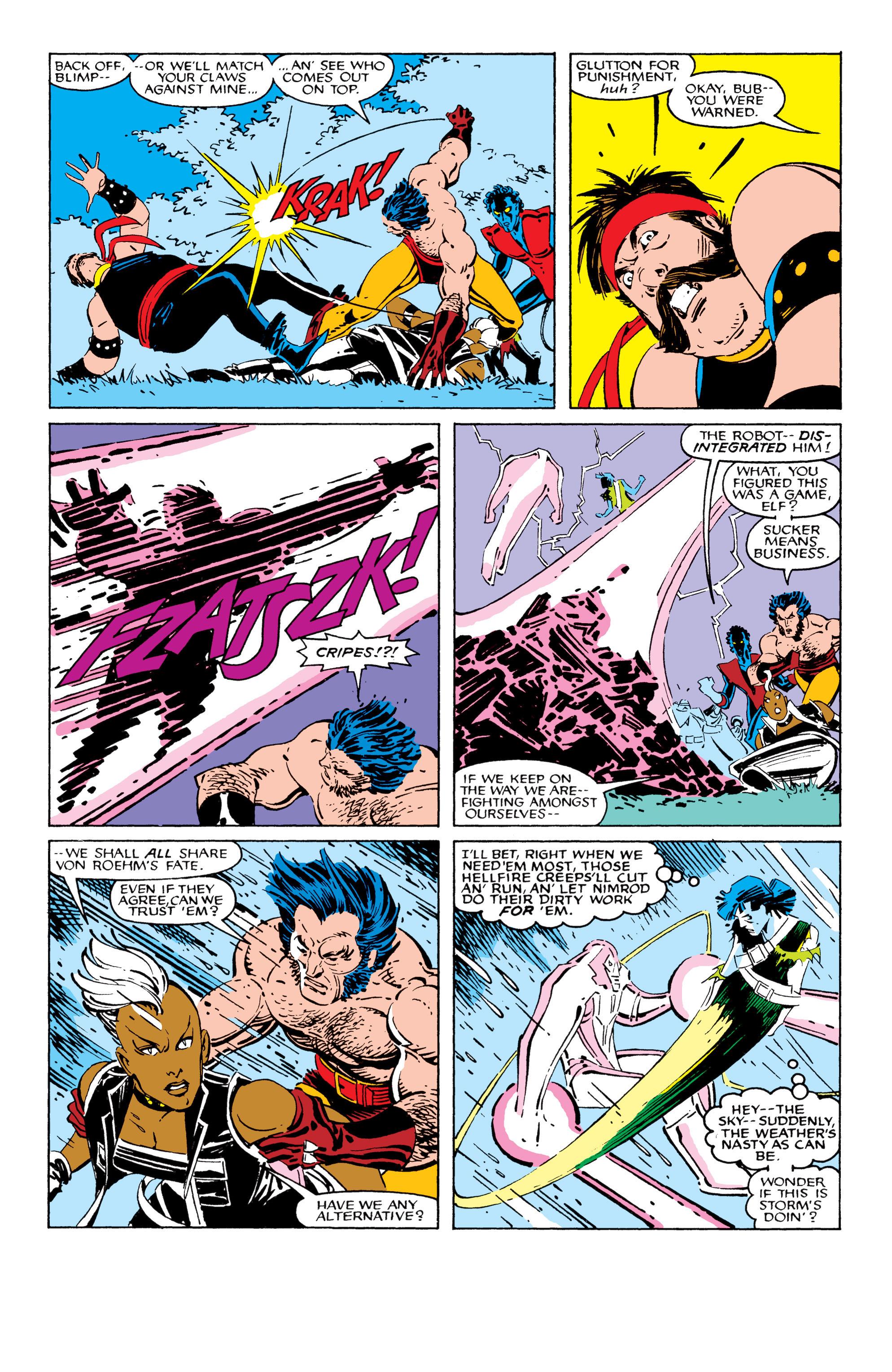 Read online Uncanny X-Men (1963) comic -  Issue #209 - 10