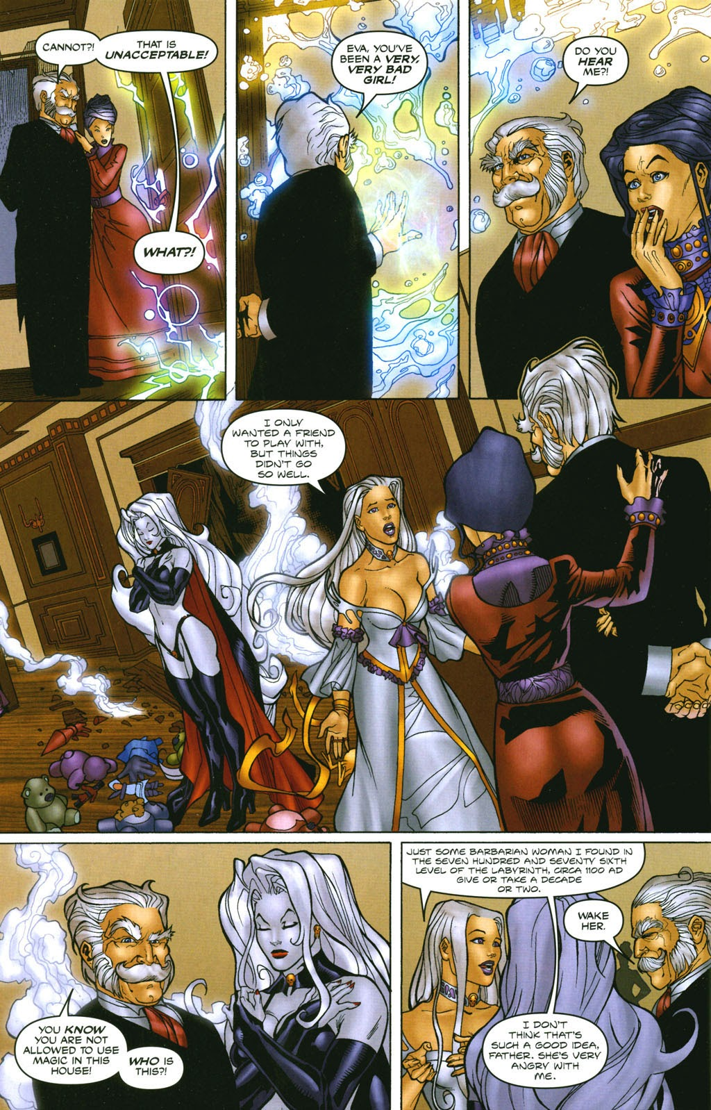 Read online Lady Death: The Wicked comic -  Issue #1 - 28