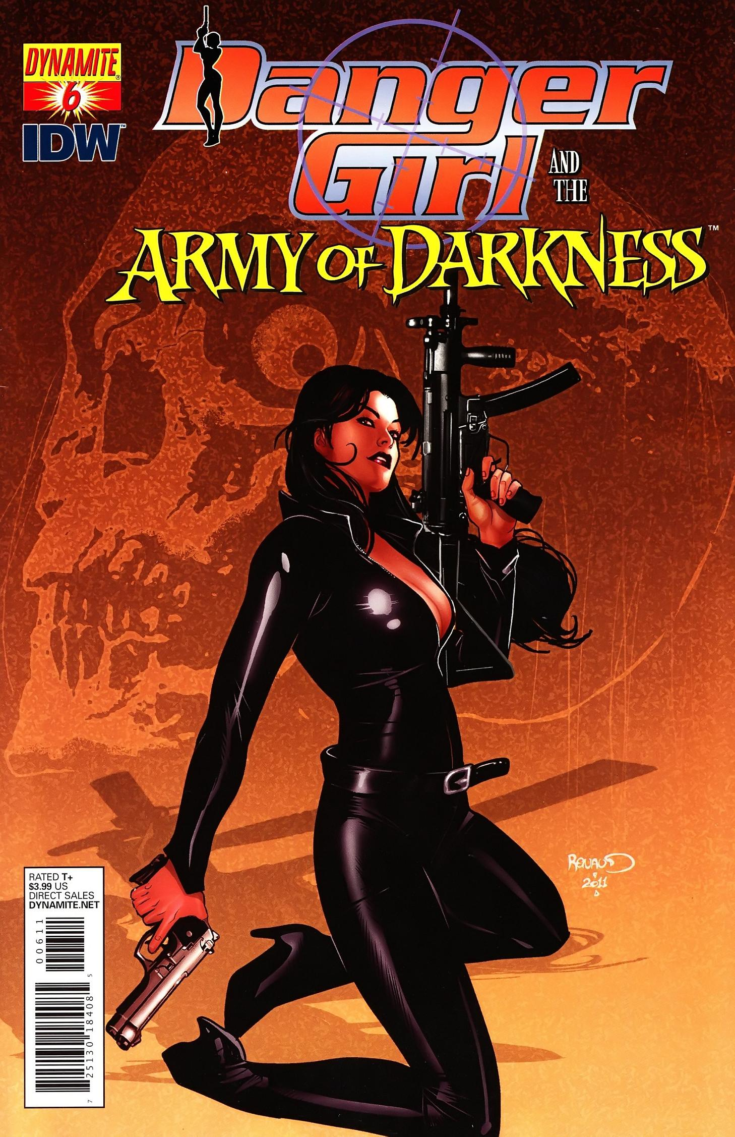 Danger Girl and the Army of Darkness issue 6 - Page 1