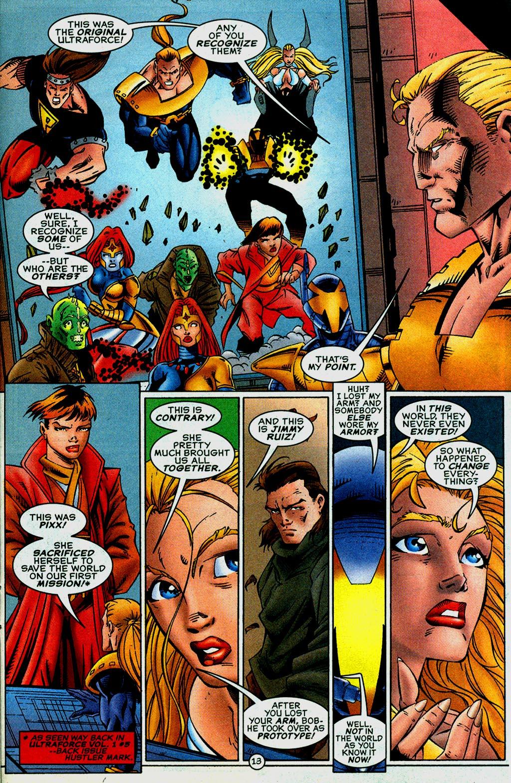 Read online UltraForce (1995) comic -  Issue #14 - 13