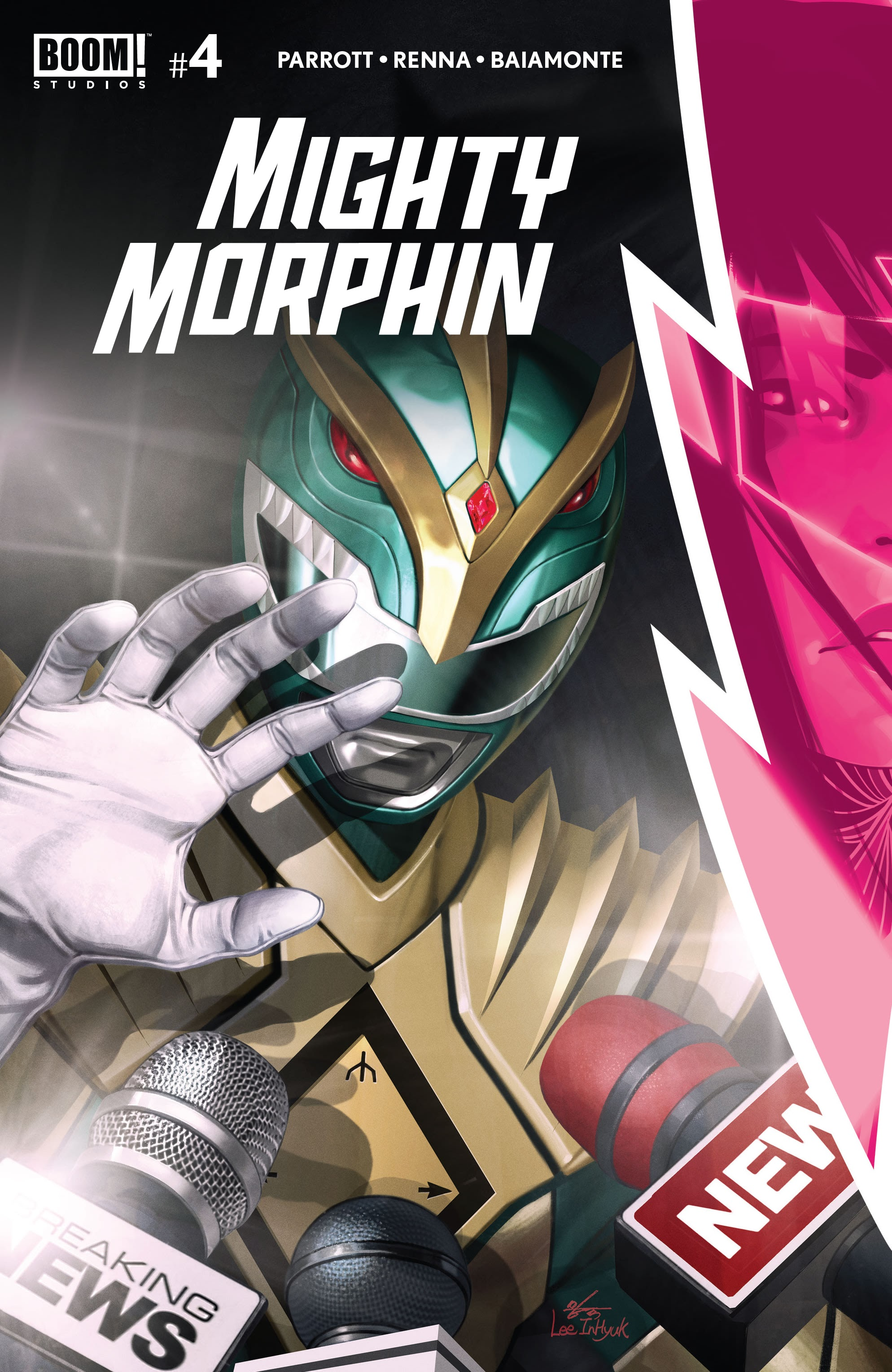 Mighty Morphin 4 Page 1