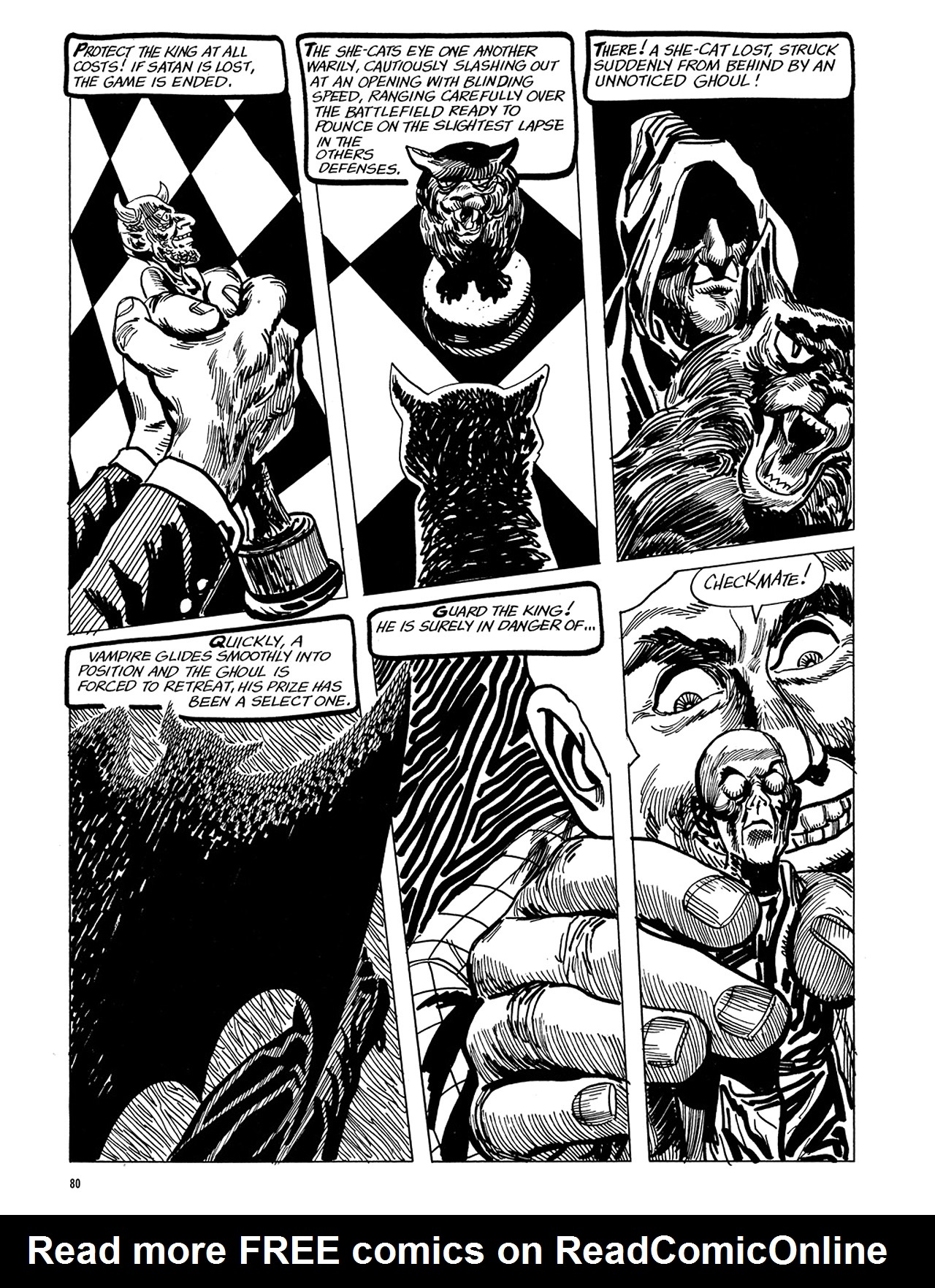 Read online Eerie Archives comic -  Issue # TPB 5 - 81