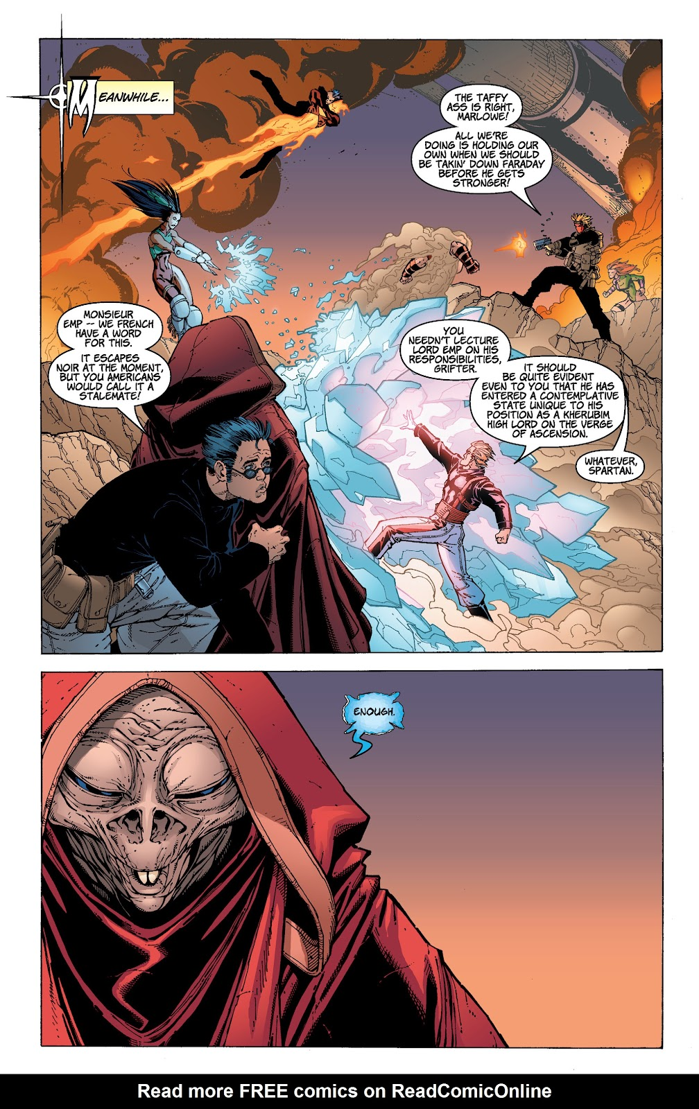 Read online Divine Right comic -  Issue # _TPB The Adventures of Max Faraday (Part 4) - 16