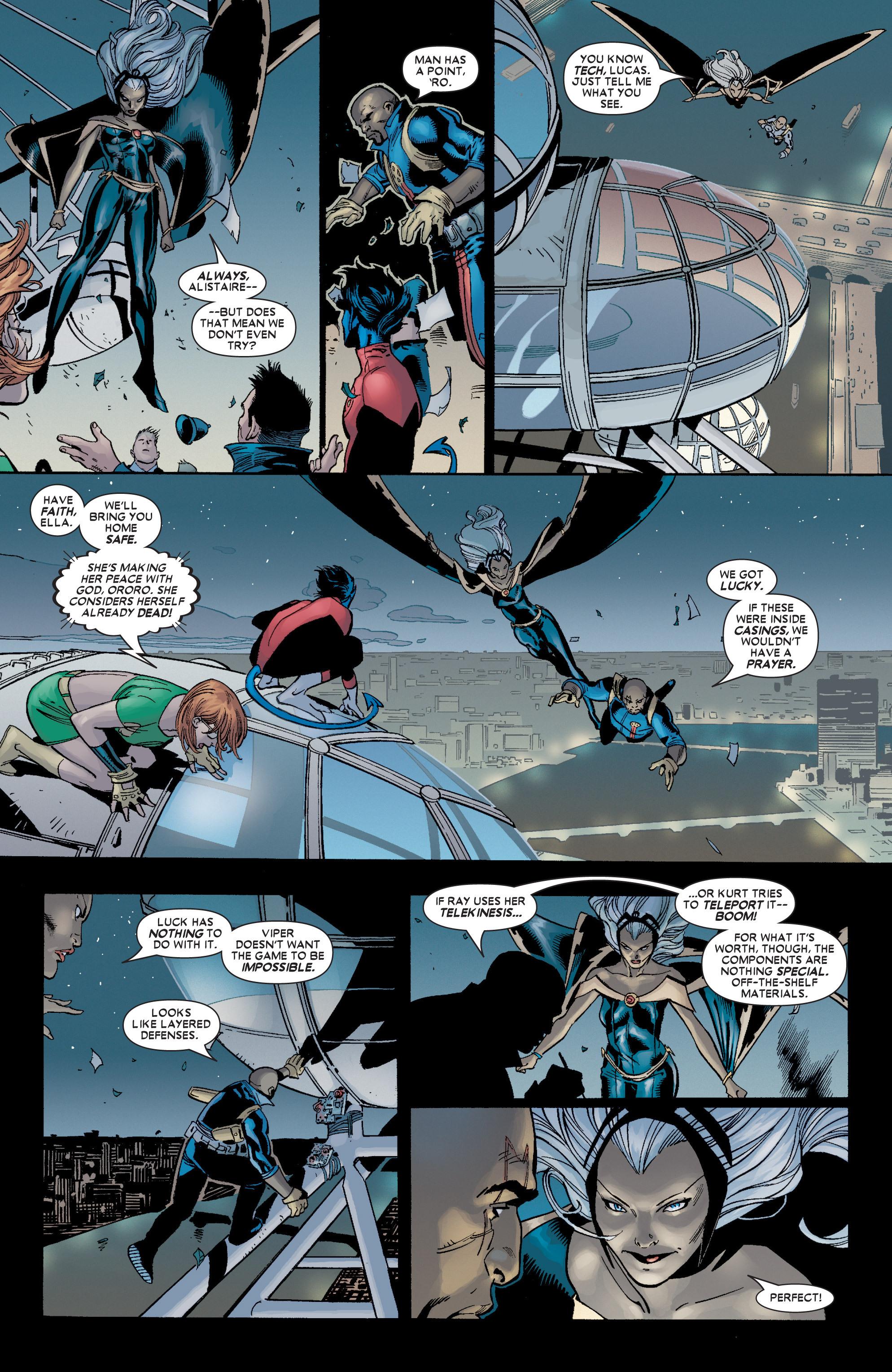 Read online Uncanny X-Men (1963) comic -  Issue #449 - 18
