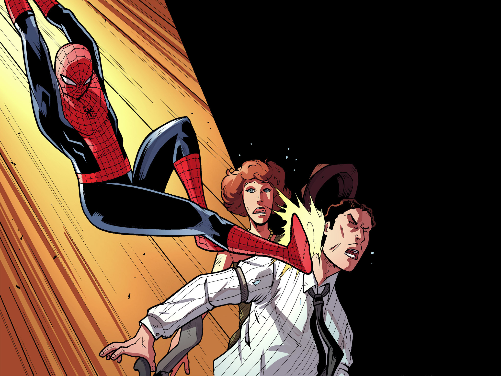 Read online Ultimate Spider-Man (Infinite Comics) (2016) comic -  Issue #10 - 25