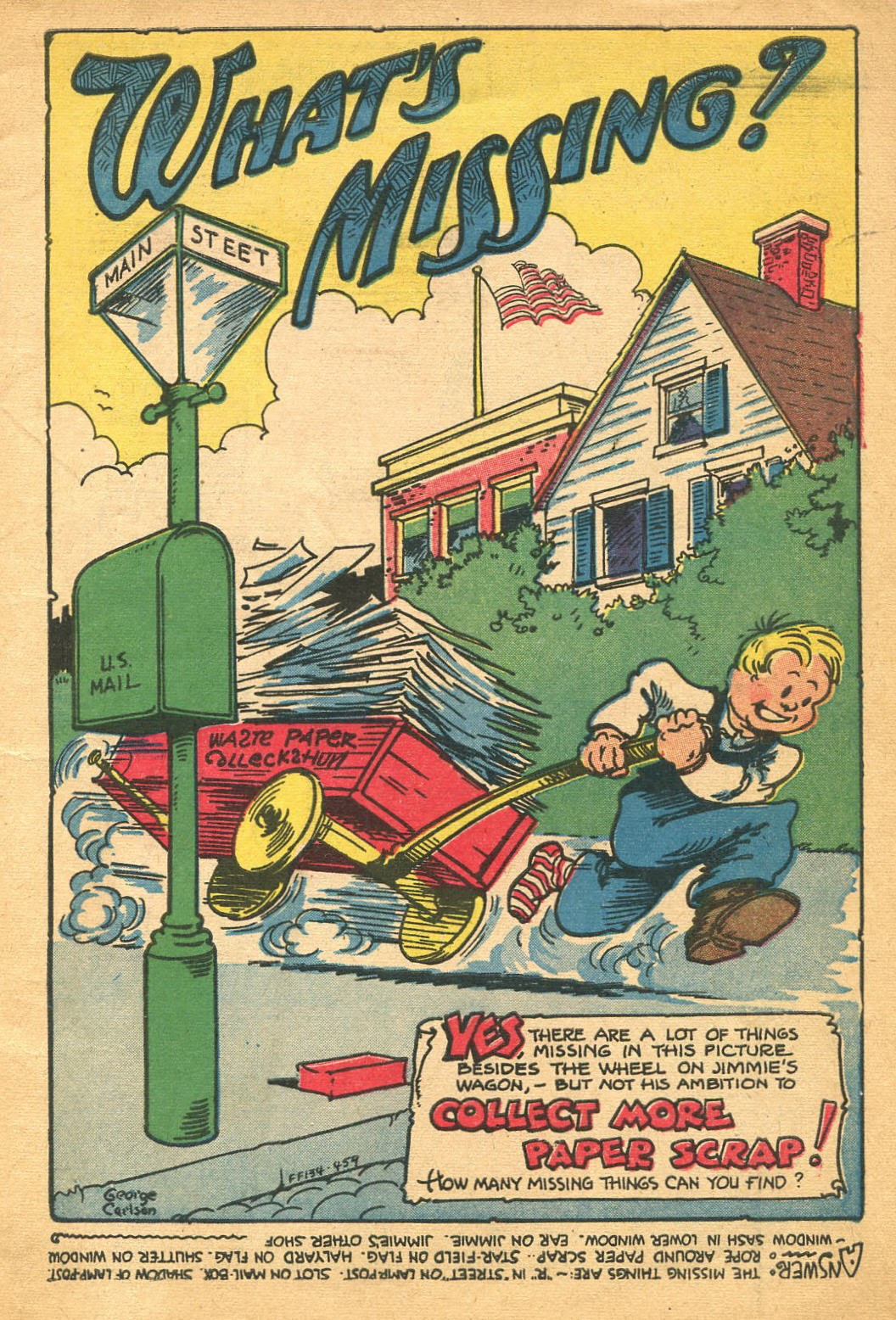 Read online Famous Funnies comic -  Issue #134 - 3