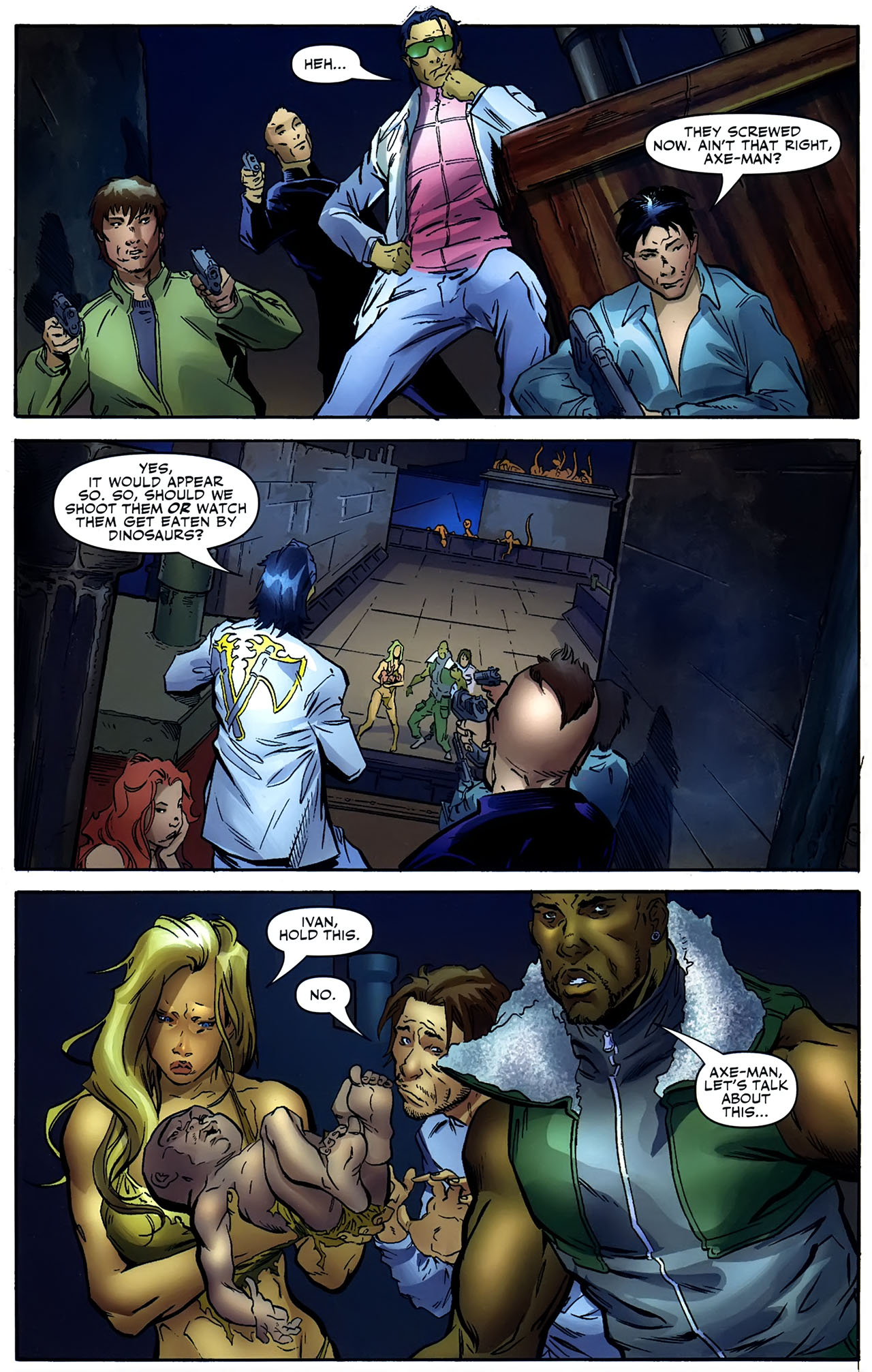 Read online Shanna the She-Devil: Survival of the Fittest comic -  Issue #4 - 3