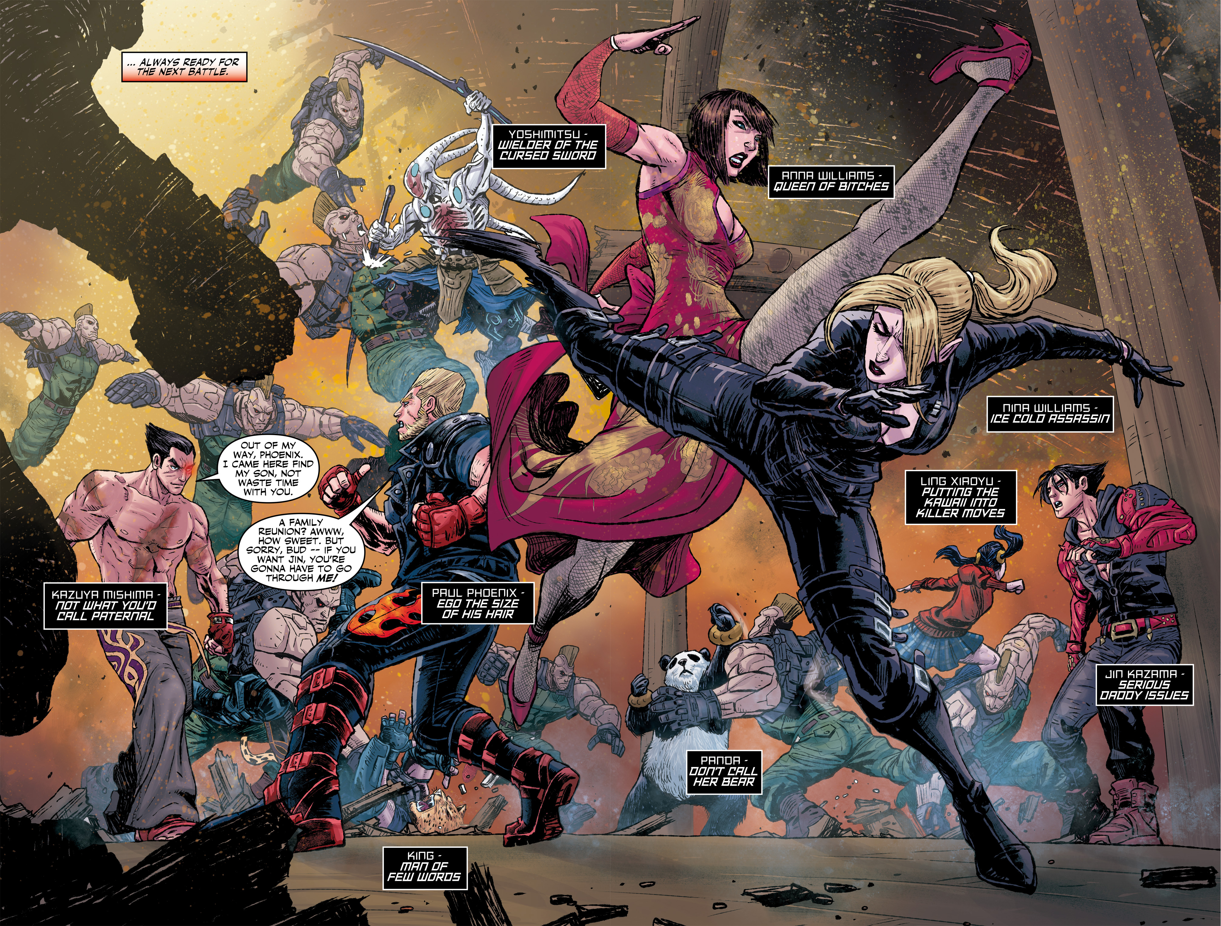 Read online Tekken comic -  Issue #2 - 8