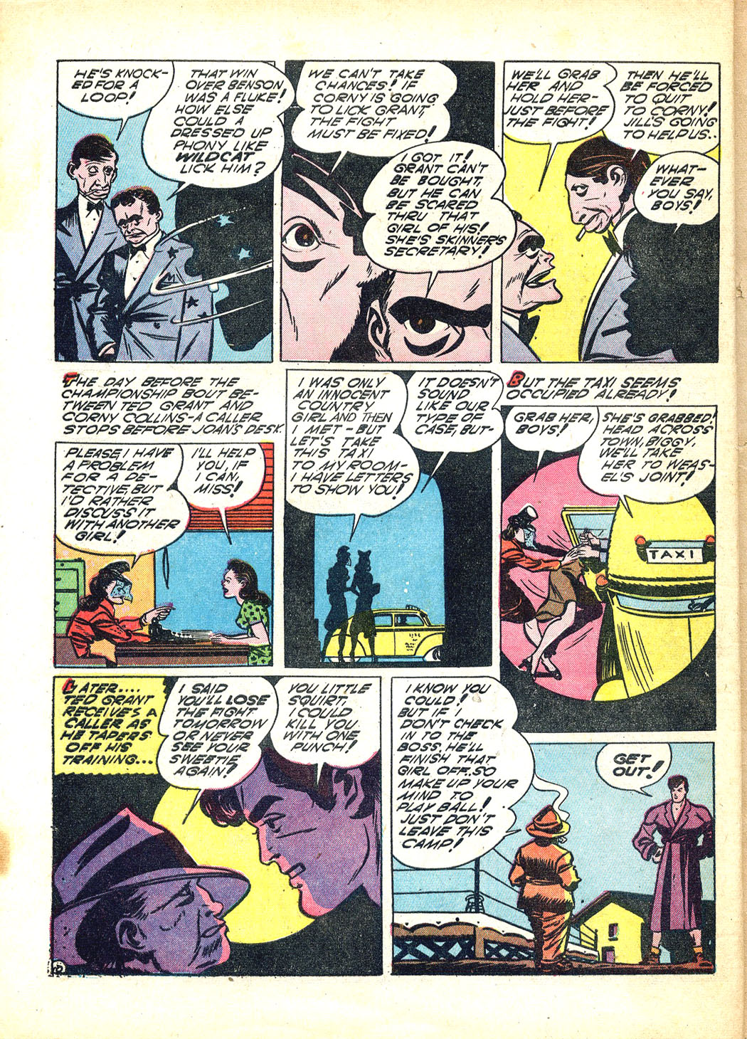 Read online Sensation (Mystery) Comics comic -  Issue #12 - 62
