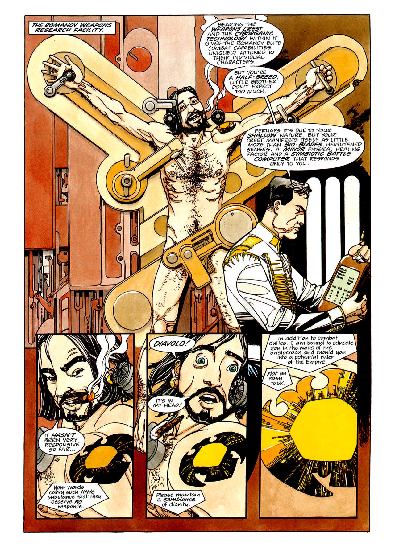Read online Nikolai Dante comic -  Issue # TPB 1 - 56