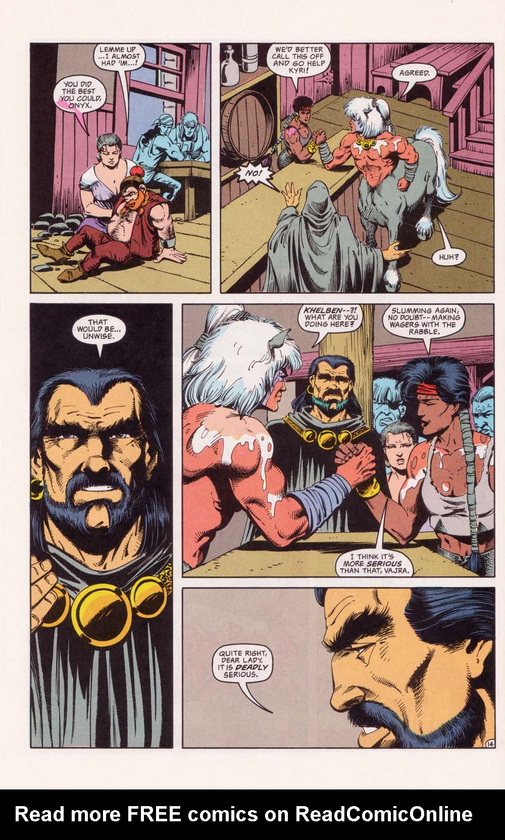 Read online Advanced Dungeons & Dragons comic -  Issue #33 - 14