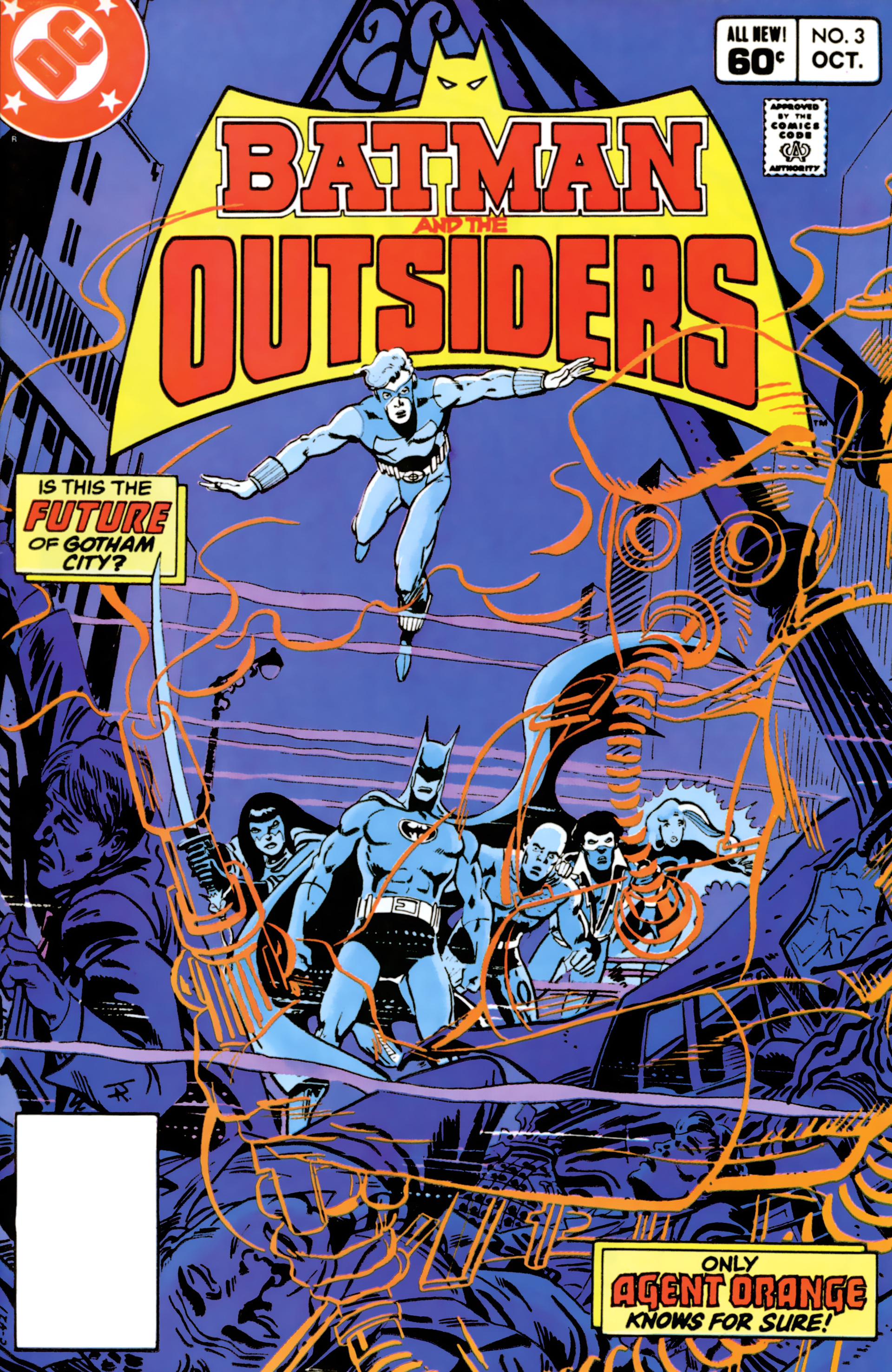 Batman and the Outsiders (1983) 3 Page 1