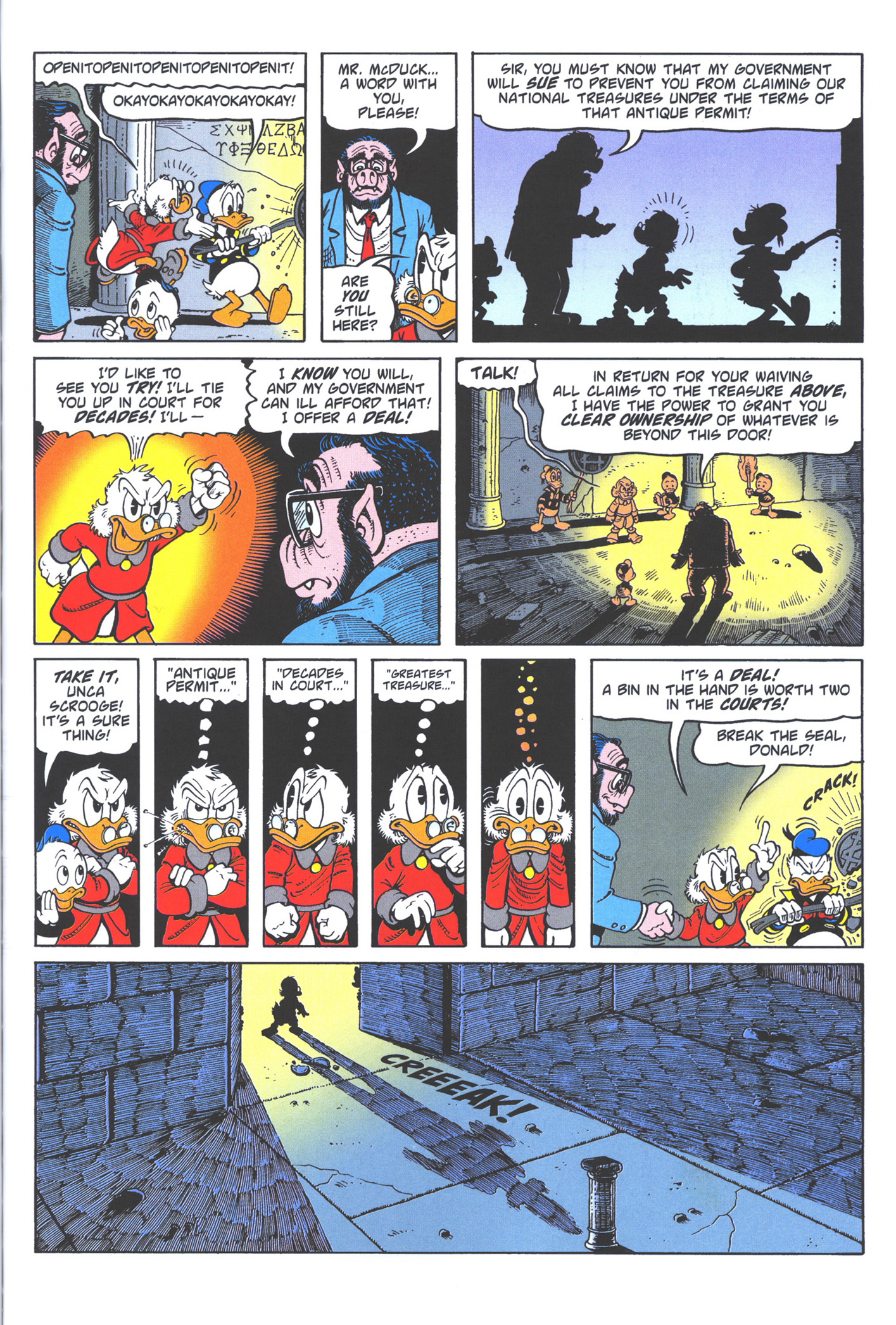 Read online Uncle Scrooge (1953) comic -  Issue #372 - 51
