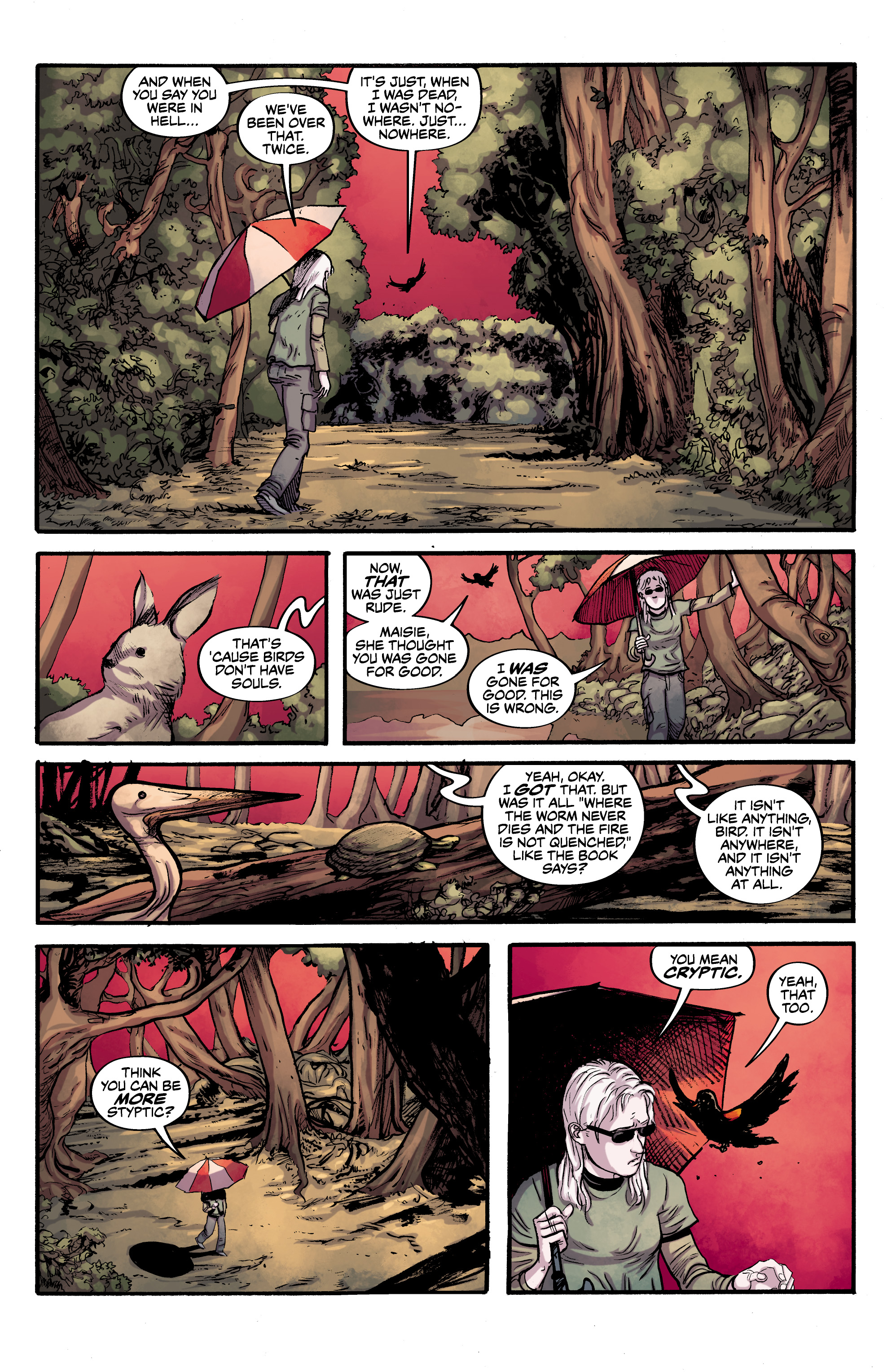Read online Alabaster: The Good, the Bad and the Bird comic -  Issue #4 - 16