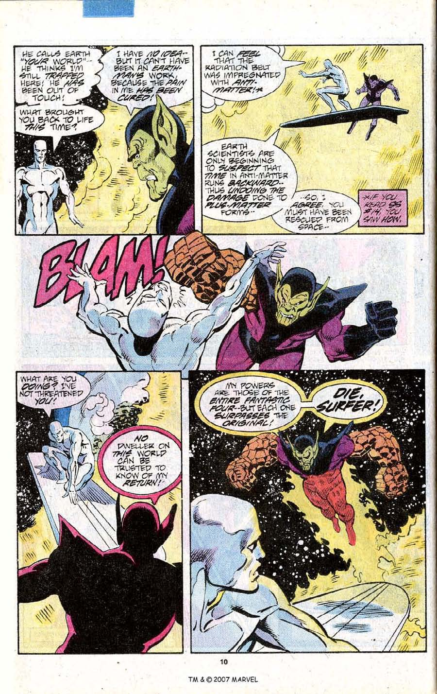Read online Silver Surfer (1987) comic -  Issue # _Annual 1 - 12