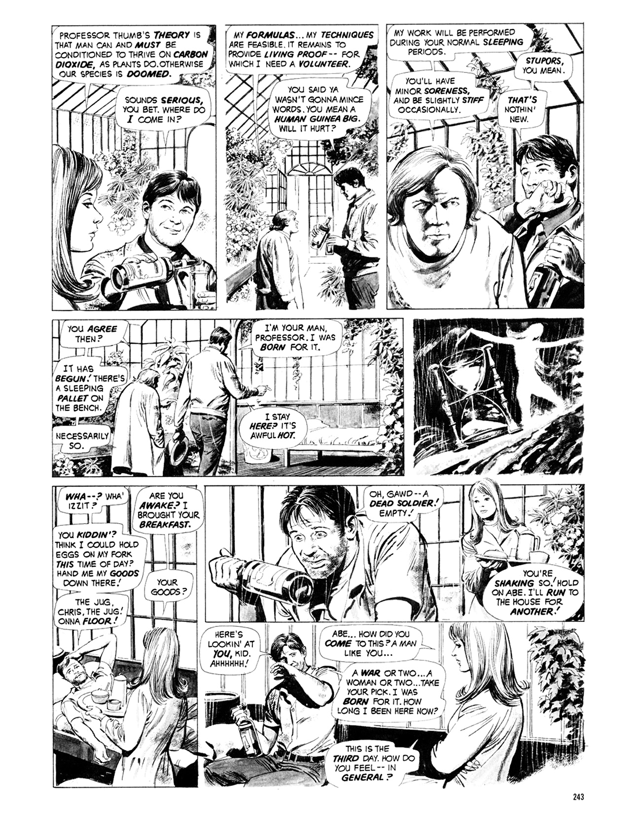 Read online Eerie Archives comic -  Issue # TPB 9 - 244