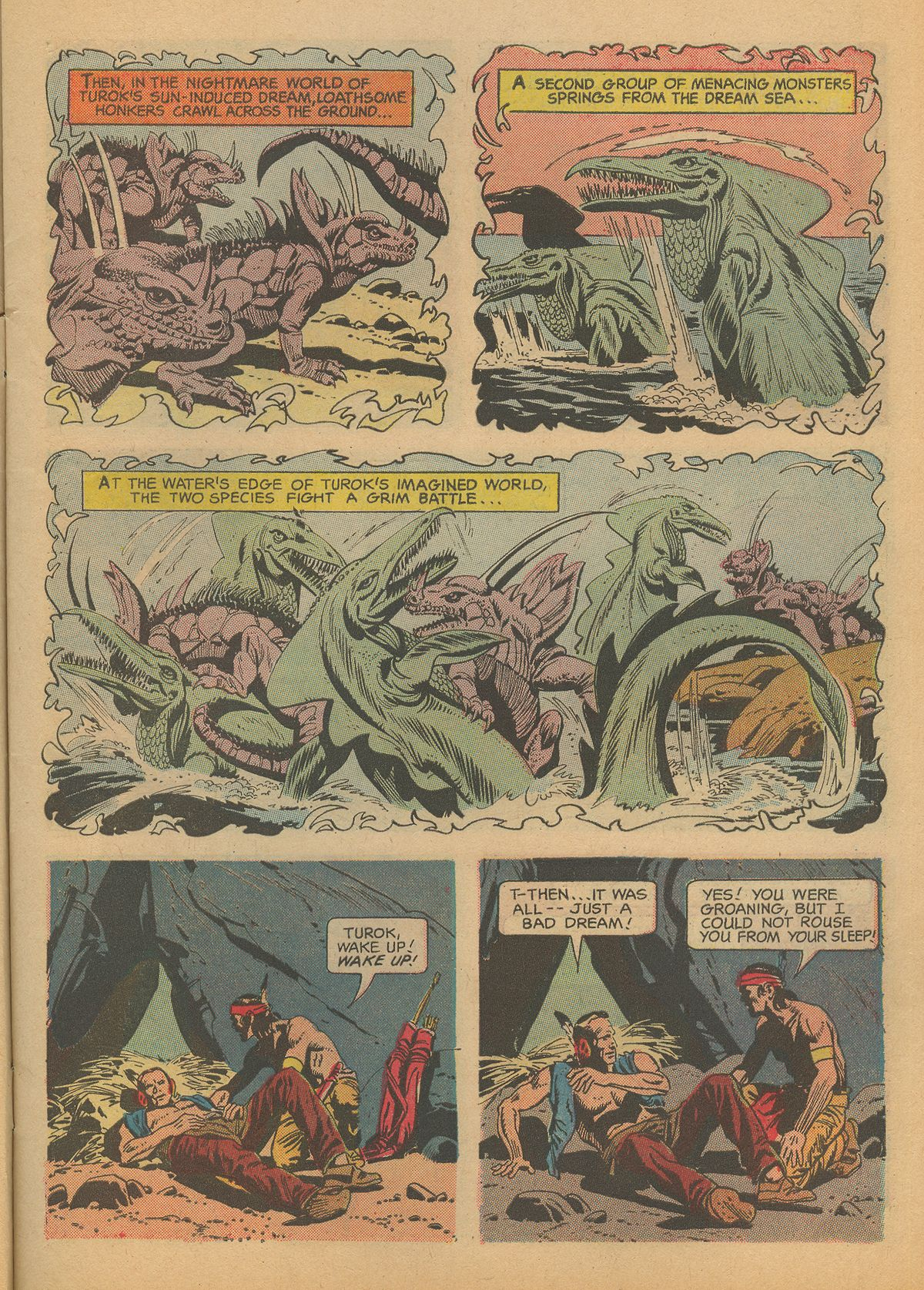 Read online Turok, Son of Stone comic -  Issue #60 - 7