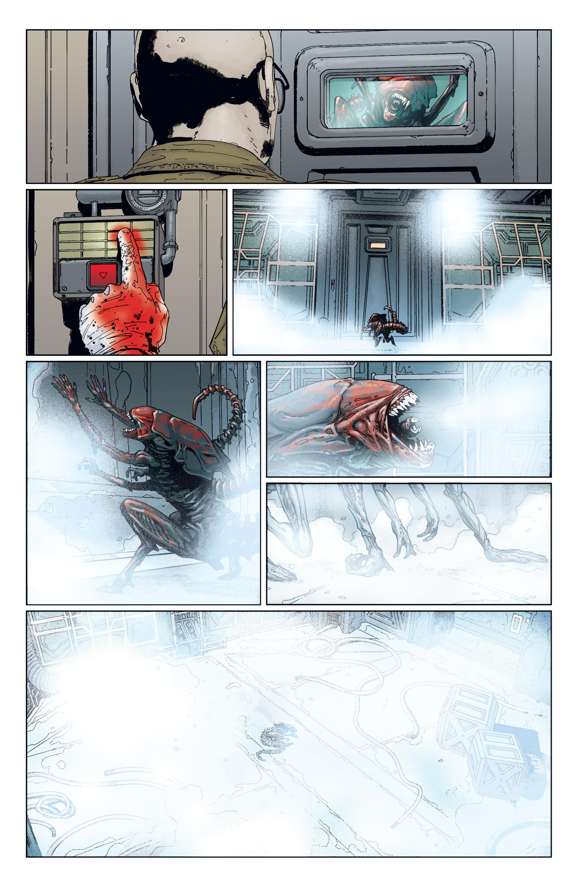 Read online Aliens: Defiance comic -  Issue #7 - 17