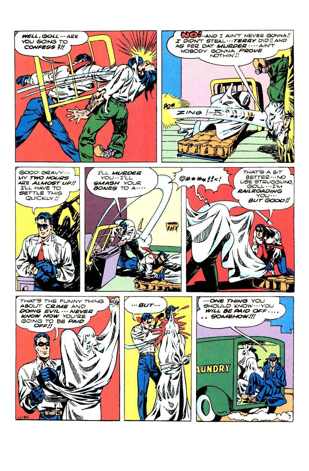 Read online Will Eisner's The Spirit Archives comic -  Issue # TPB 3 (Part 2) - 76