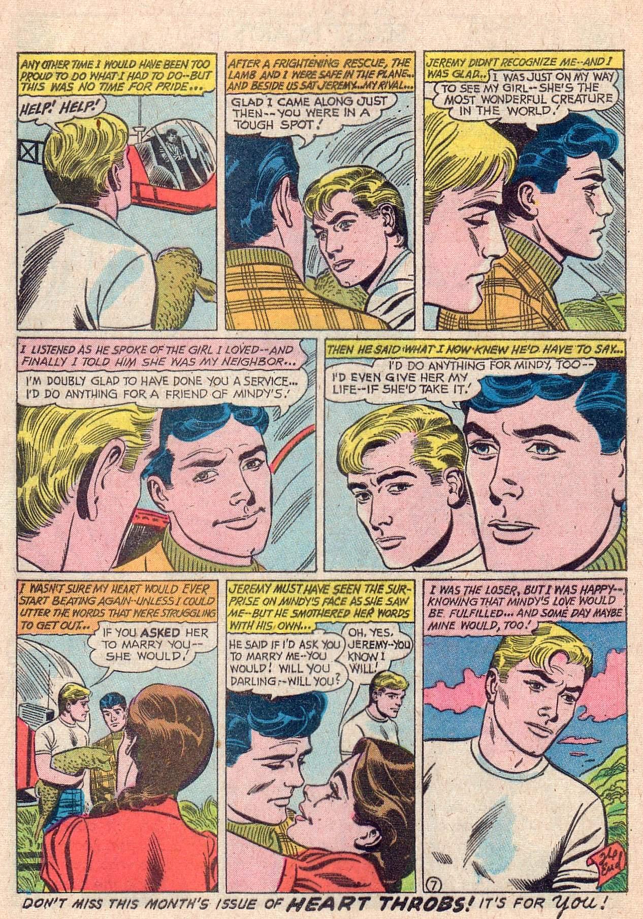 Read online Secret Hearts comic -  Issue #67 - 24