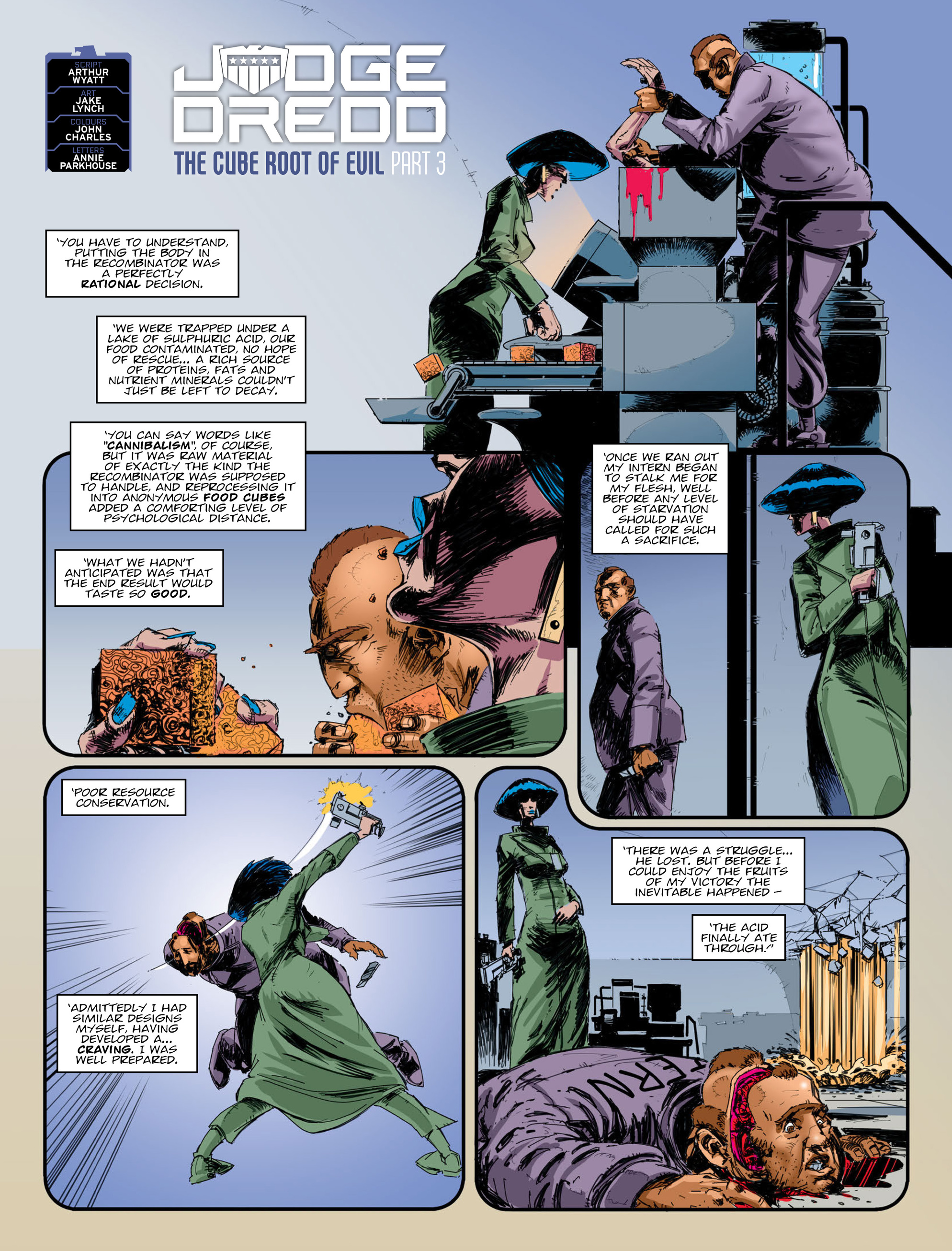 Read online 2000 AD comic -  Issue #2009 - 3