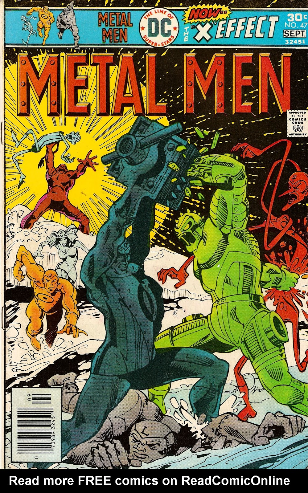Metal Men (1963) issue 47 - Page 1