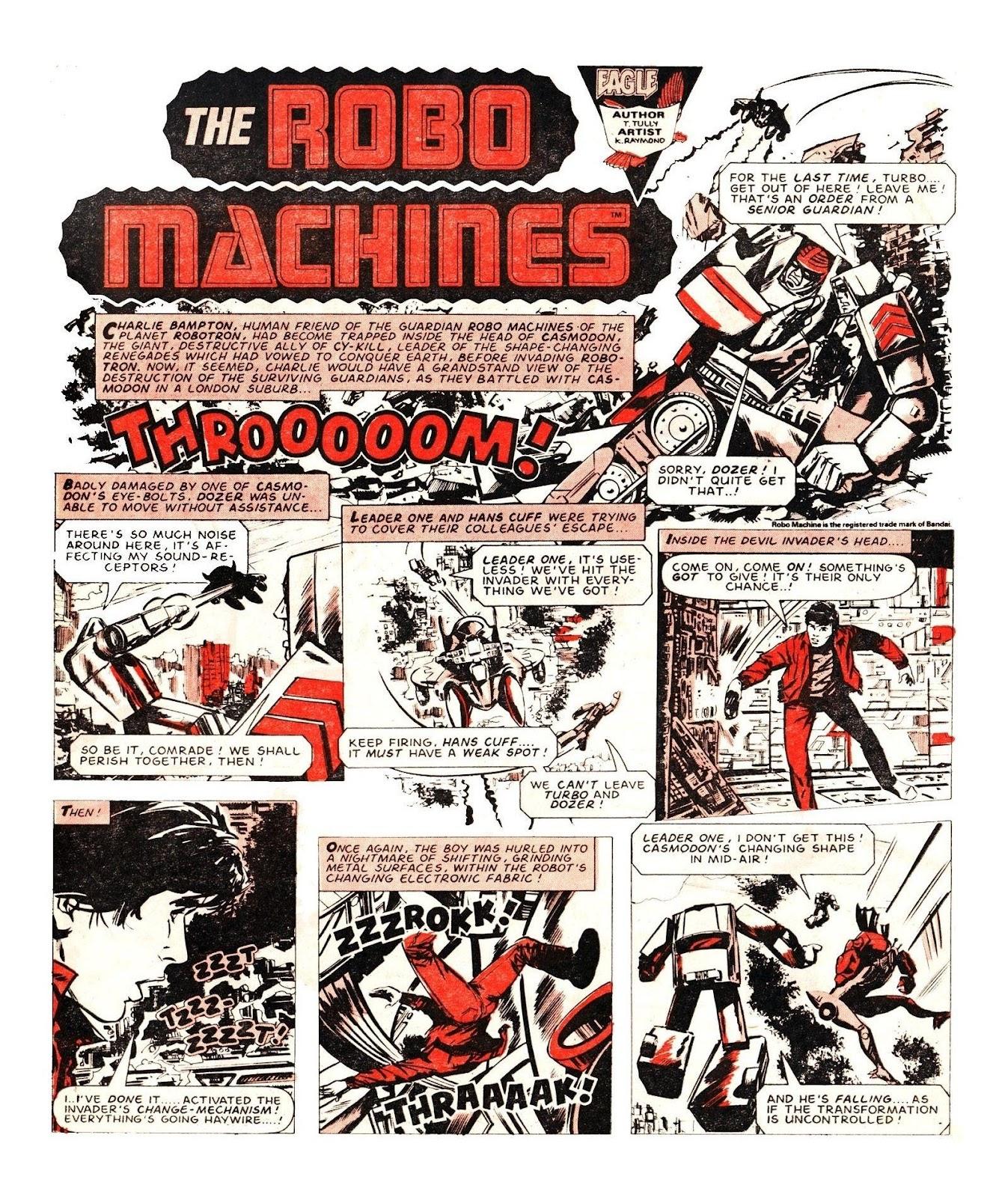 Read online Robo Machines comic -  Issue # TPB - 112
