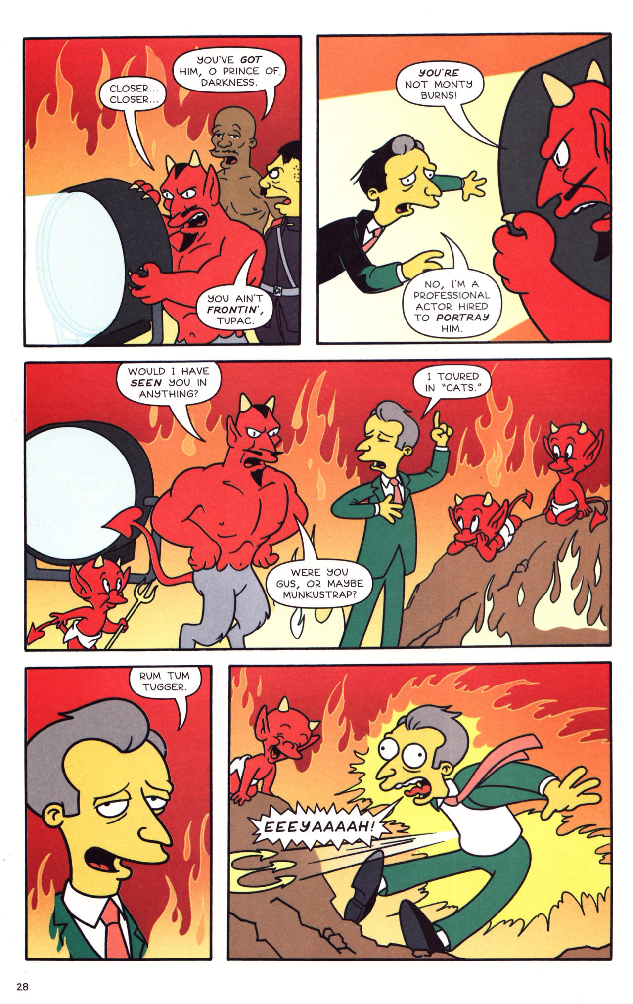 Read online Simpsons Comics comic -  Issue #133 - 23