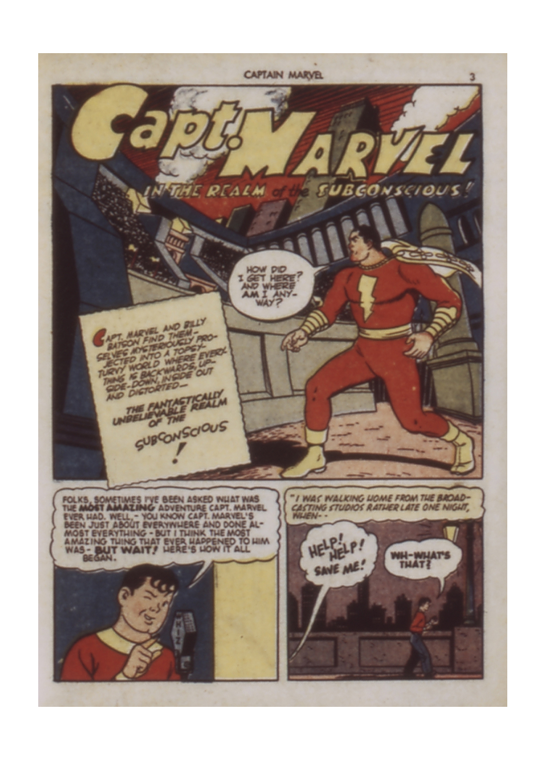 Captain Marvel Adventures issue 9 - Page 3